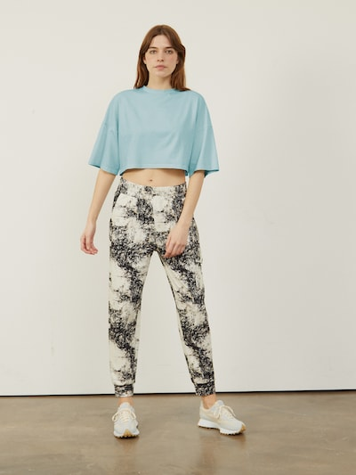 CROSBY CROPPED-T-SHIRT MIT BOXY FIT