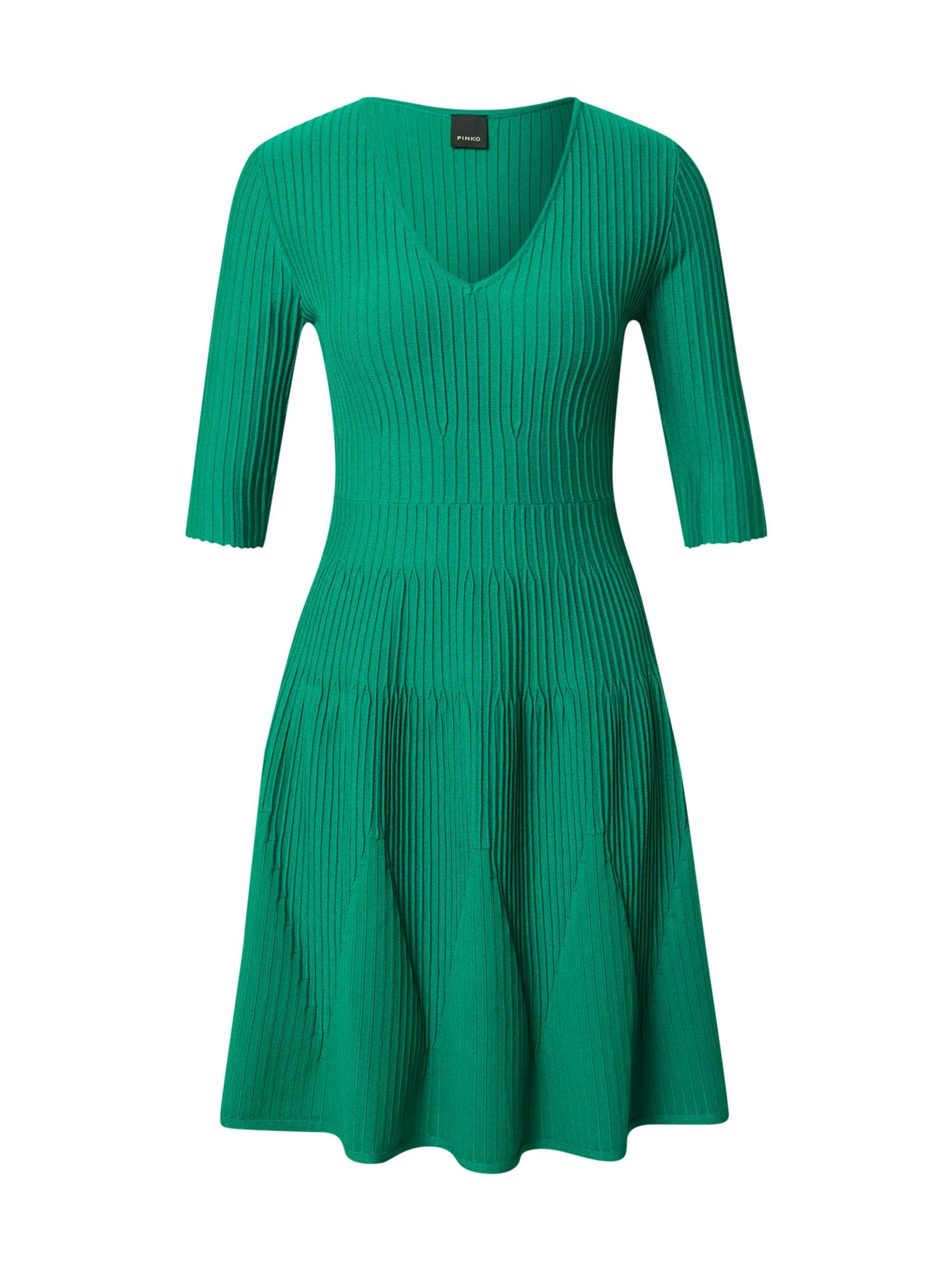 PINKO Suknelė žolės žalia