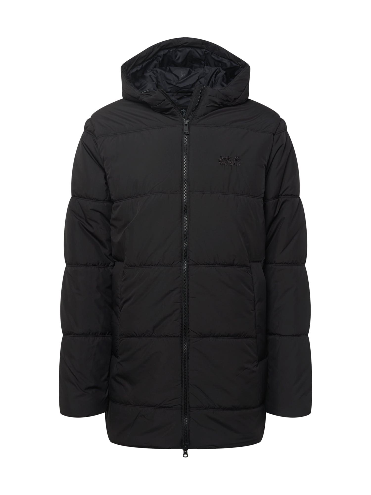 JACK WOLFSKIN Outdoorová bunda  černá