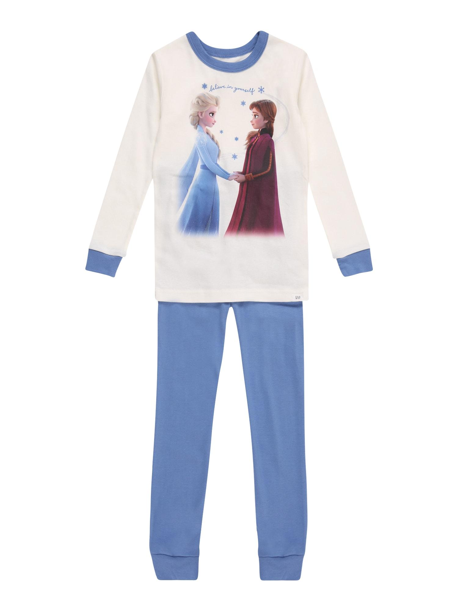 GAP Miego kostiumas balta / mėlyna / purpurinė
