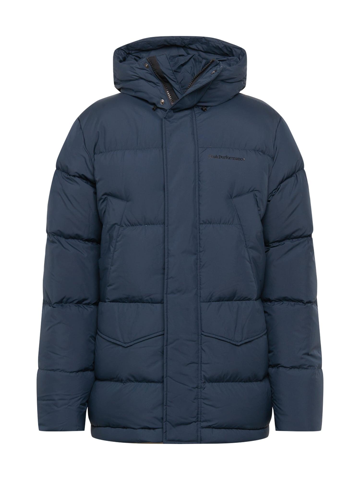 PEAK PERFORMANCE Žieminė striukė tamsiai mėlyna