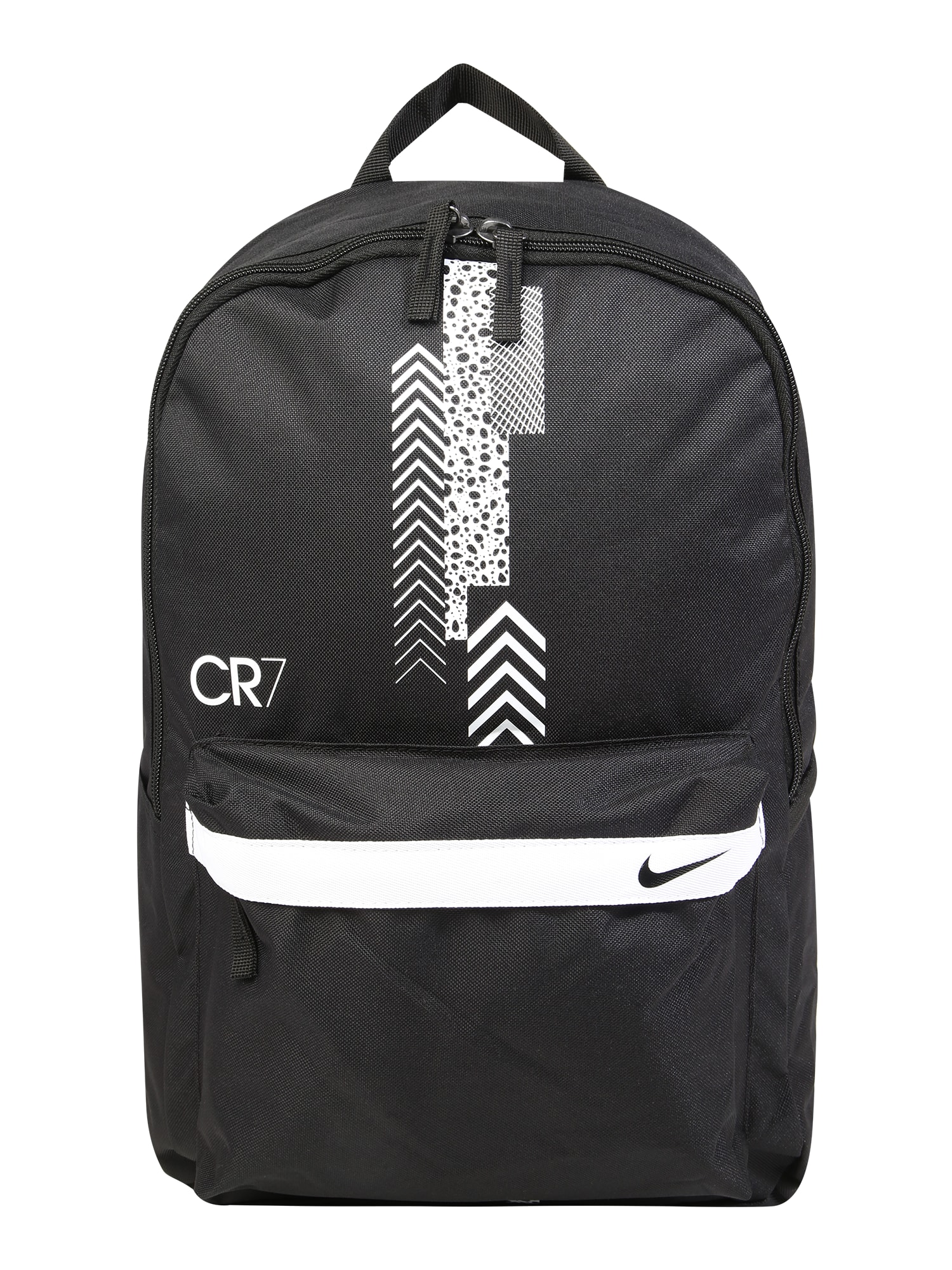 NIKE Sportovní batoh 'CR7'  černá / bílá