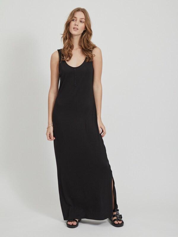 Kleid 'VIDELL MAXI S/L DRESS-NOOS'