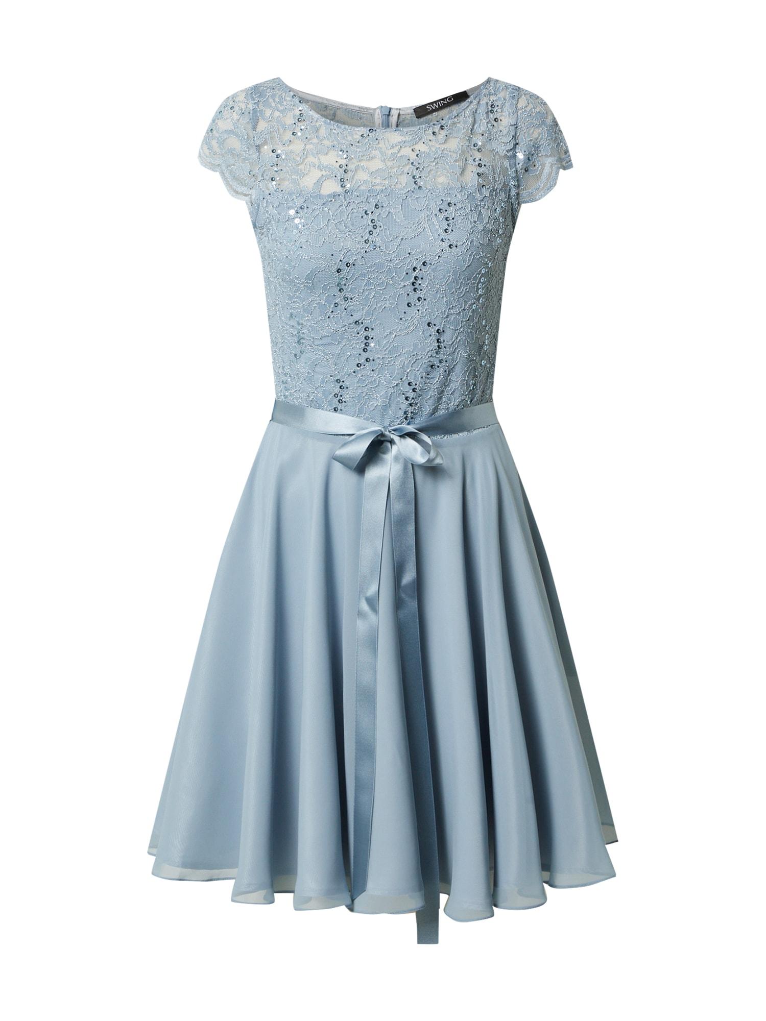 SWING Kokteilinė suknelė opalo