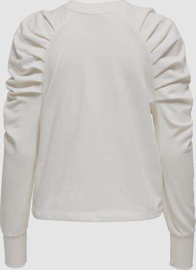 Only Maj Life Sweatshirt mit Plissee-Puffärmel