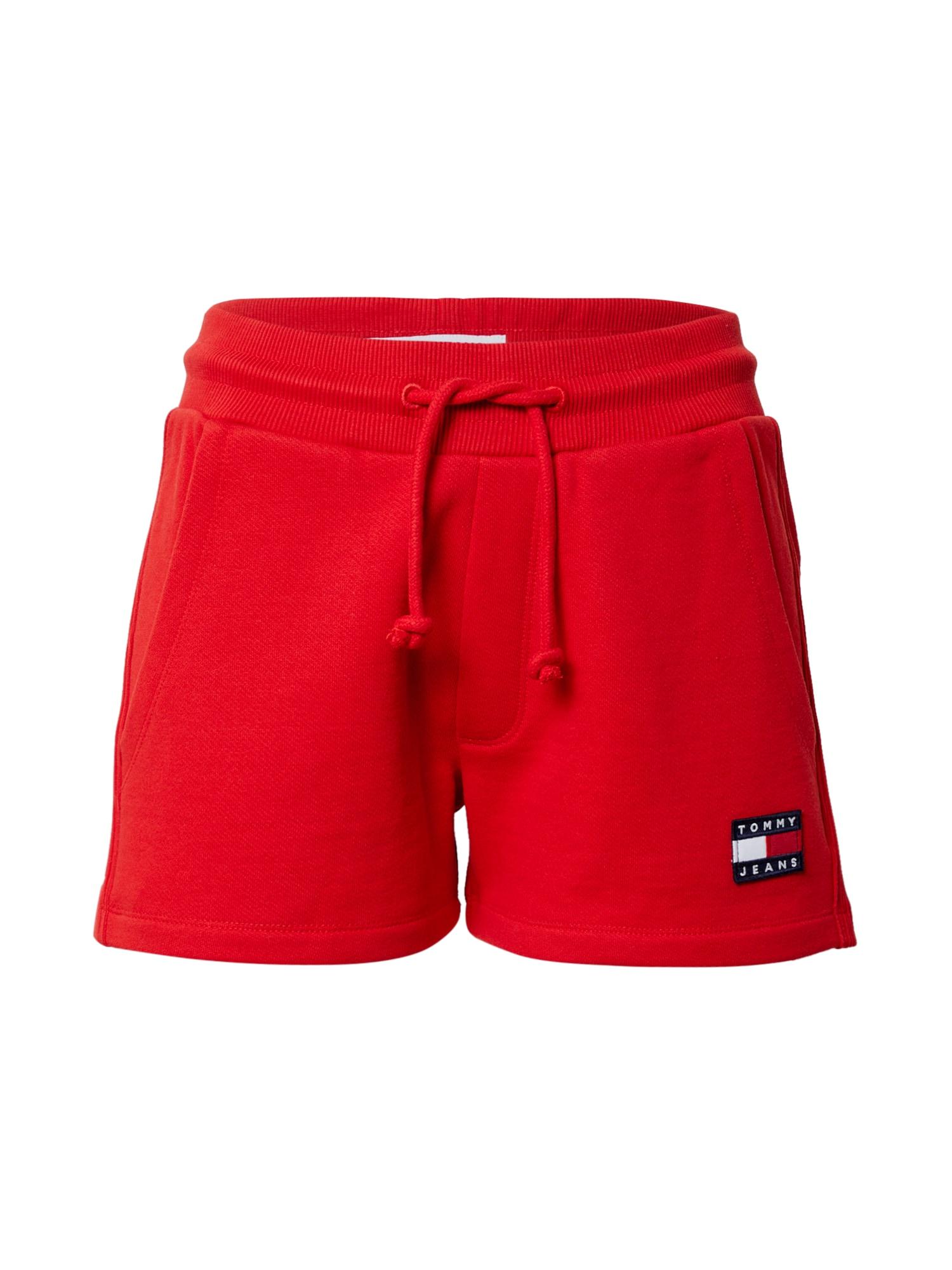 Tommy Jeans Kelnės raudona