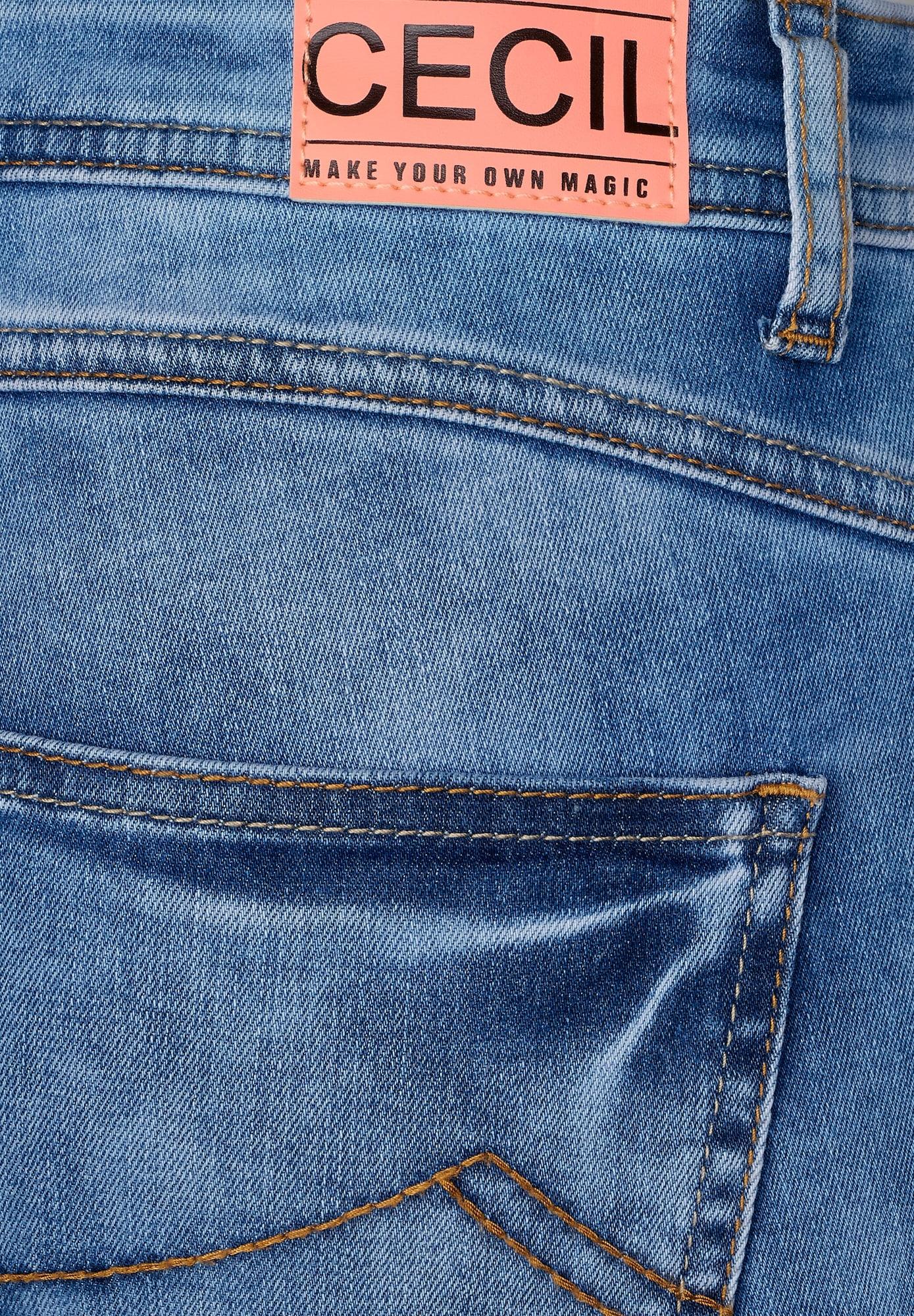 CECIL Jeans 'Scarlett'  blå