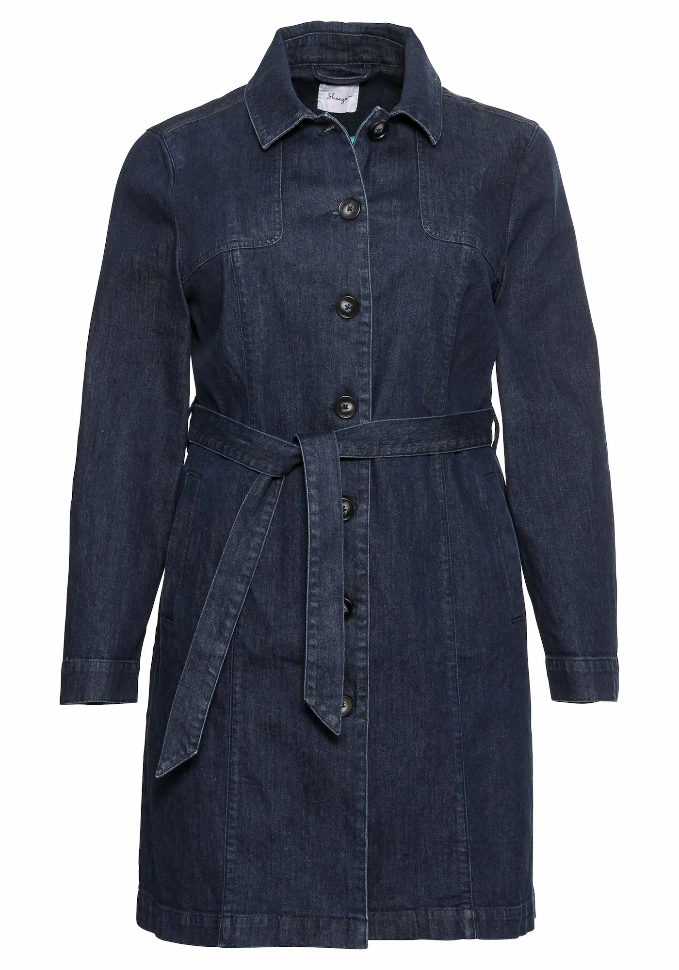 SHEEGO Demisezoninis paltas tamsiai mėlyna
