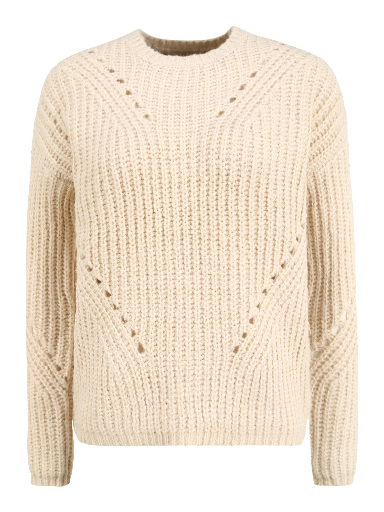 Vero Moda Tall Megztinis smėlio
