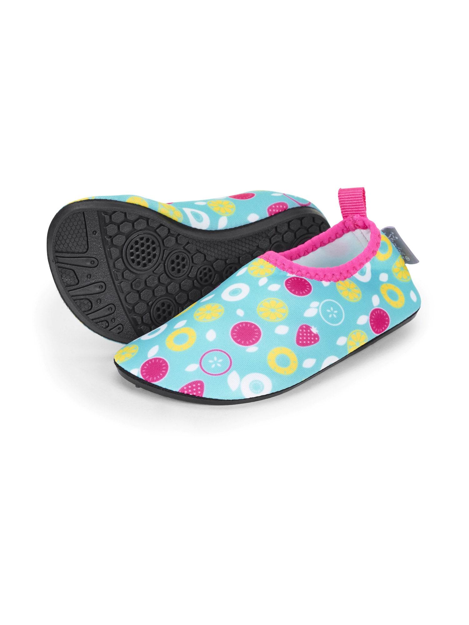STERNTALER Plážová/koupací obuv  tyrkysová / cyclam / žlutá / bílá