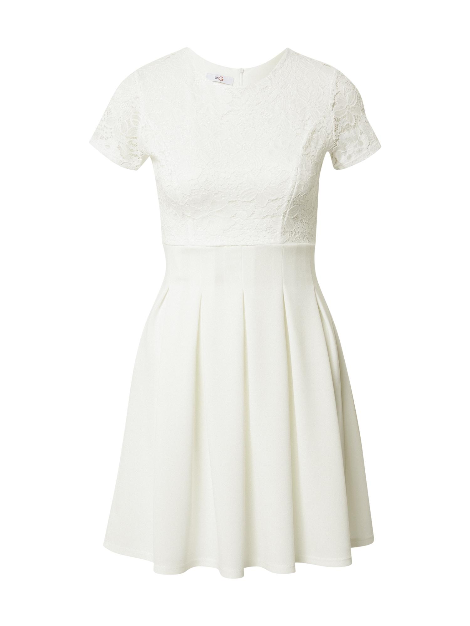 WAL G. Kokteilinė suknelė balta