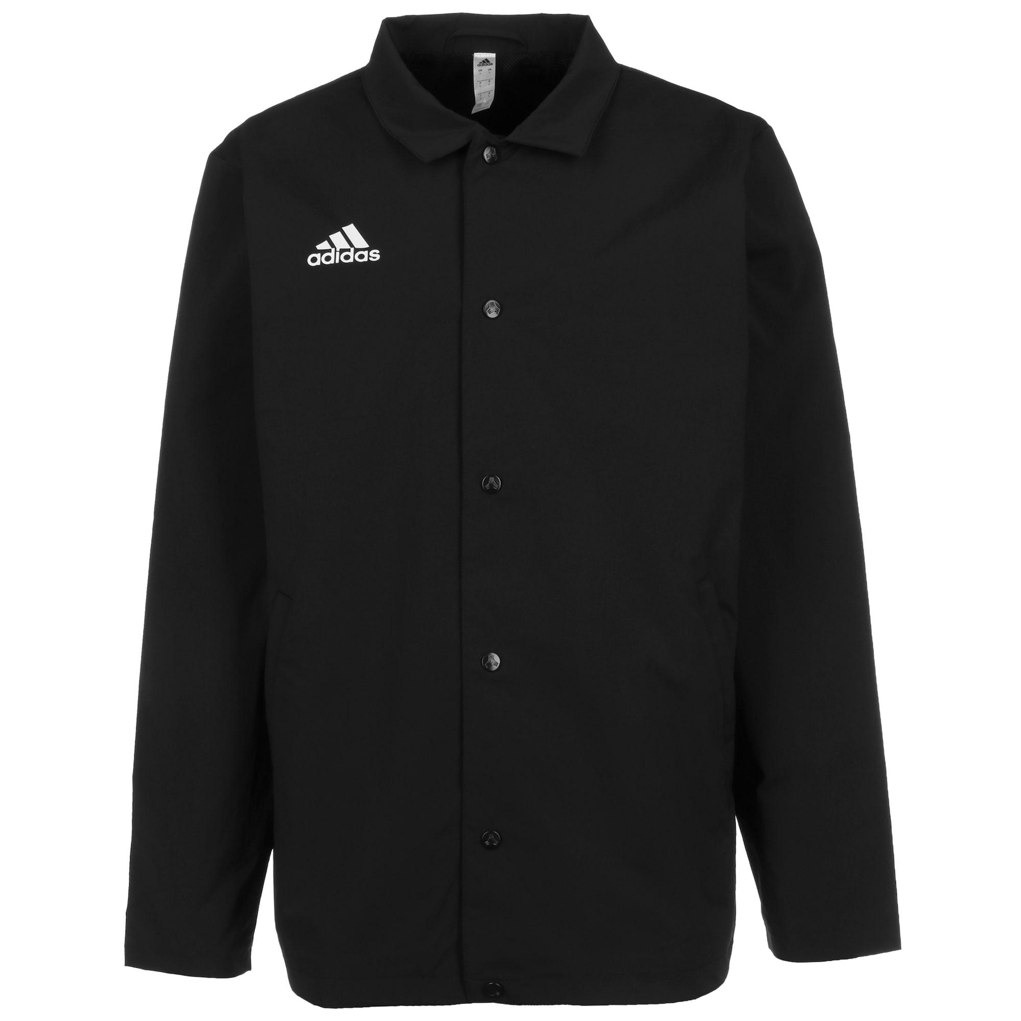 ADIDAS PERFORMANCE Sportovní bunda  bílá / černá
