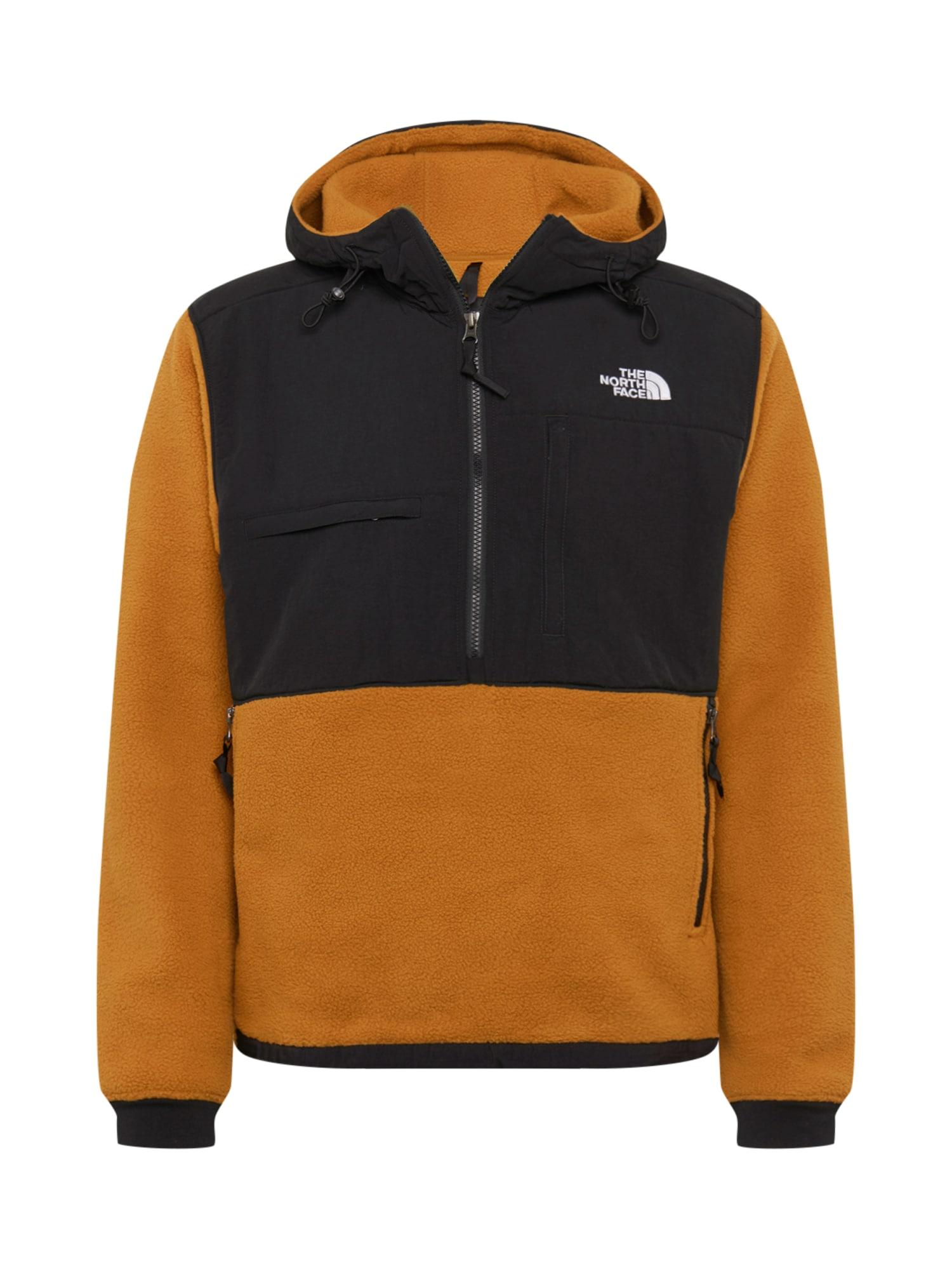 THE NORTH FACE Outdoorová bunda 'DENALI 2  '  karamelová / černá