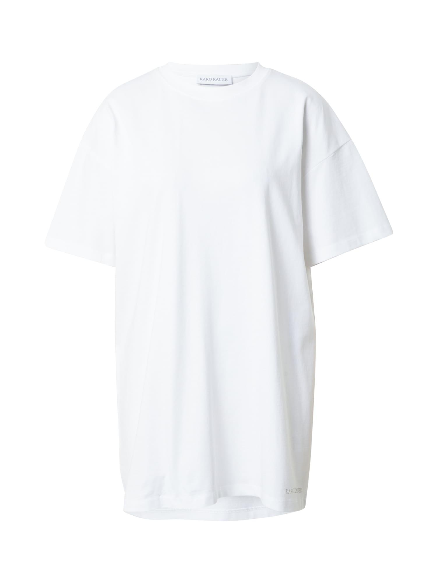 Karo Kauer Oversized tričko  bílá