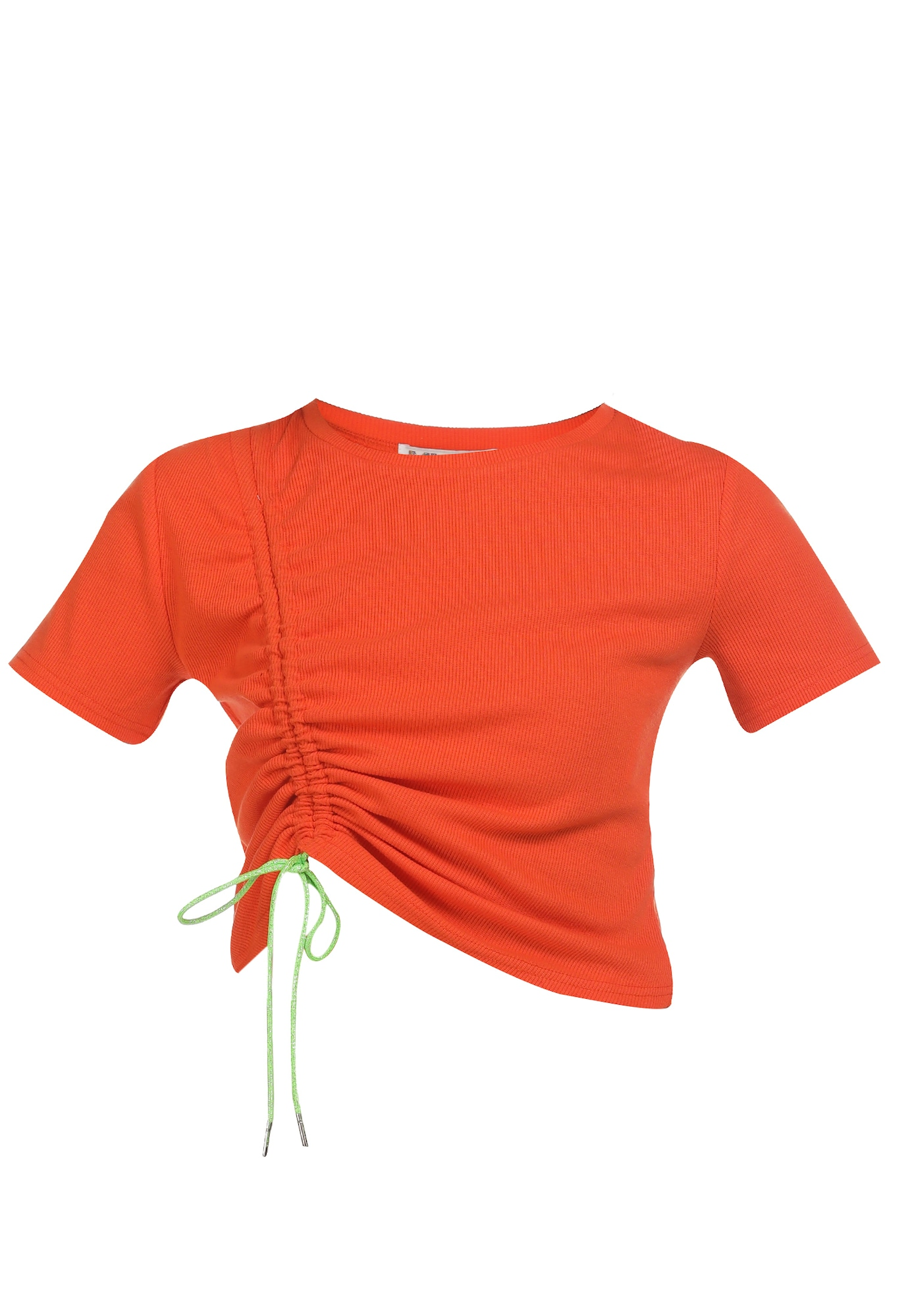 myMo ATHLSR Sportiniai marškinėliai kivių spalva / oranžinė-raudona