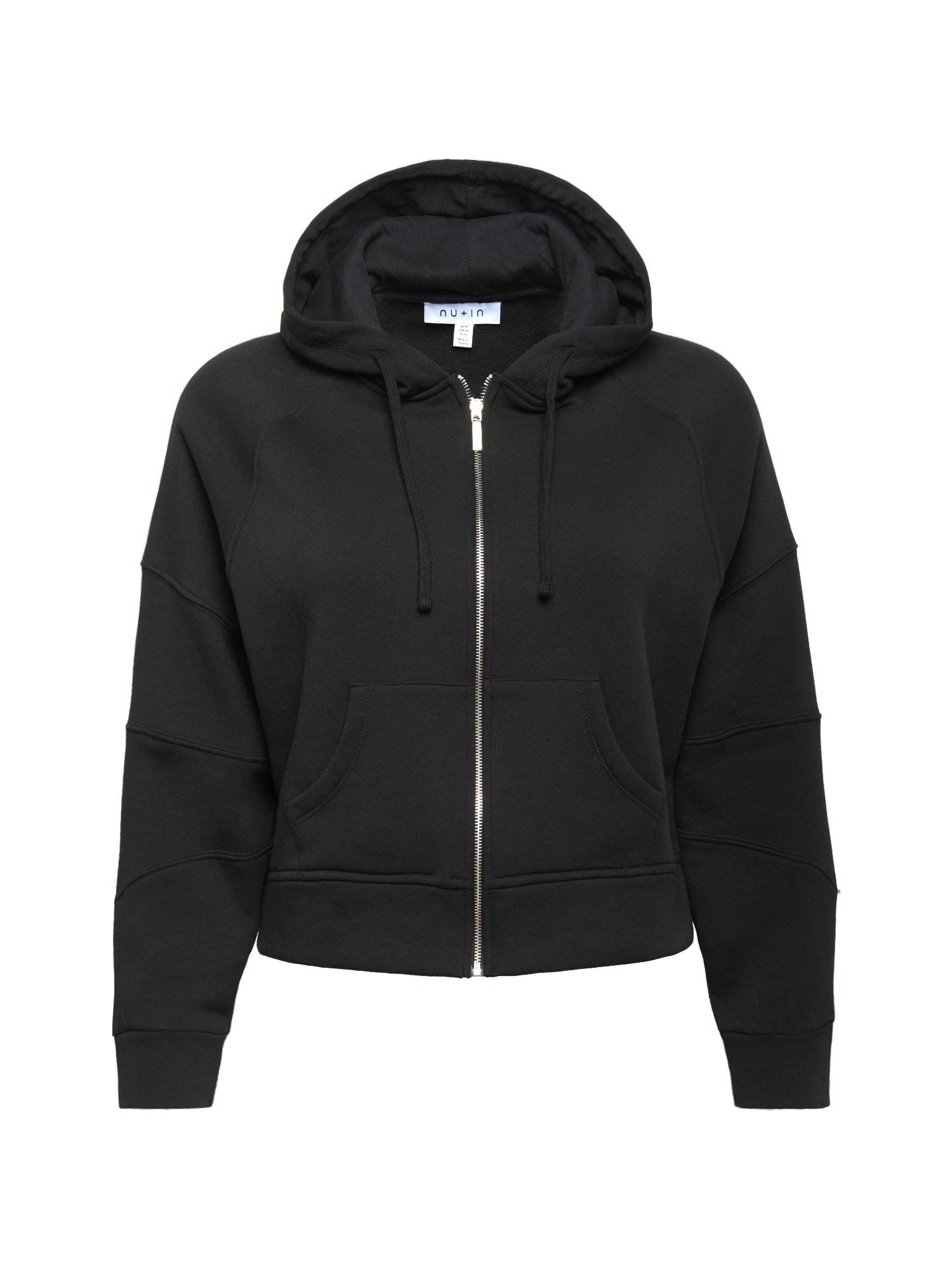 NU-IN Plus Džemperis juoda