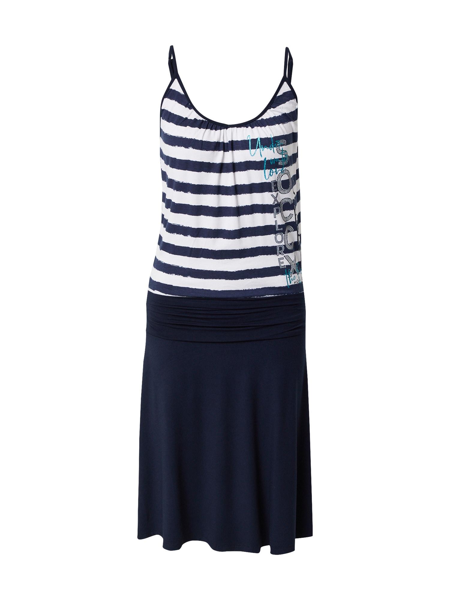 Soccx Suknelė mėlyna / balta