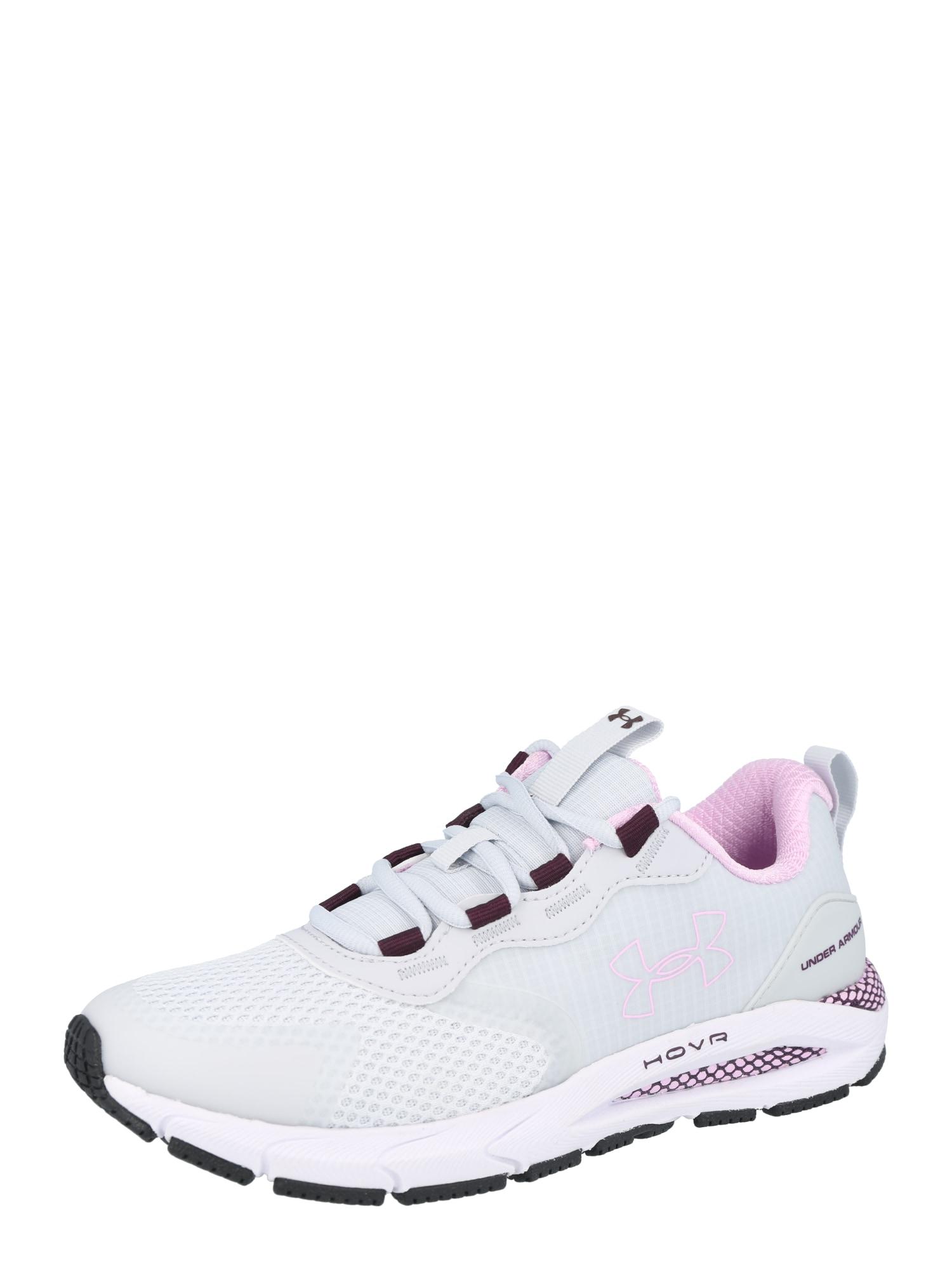 UNDER ARMOUR Bėgimo batai šviesiai pilka / rausvai violetinė spalva