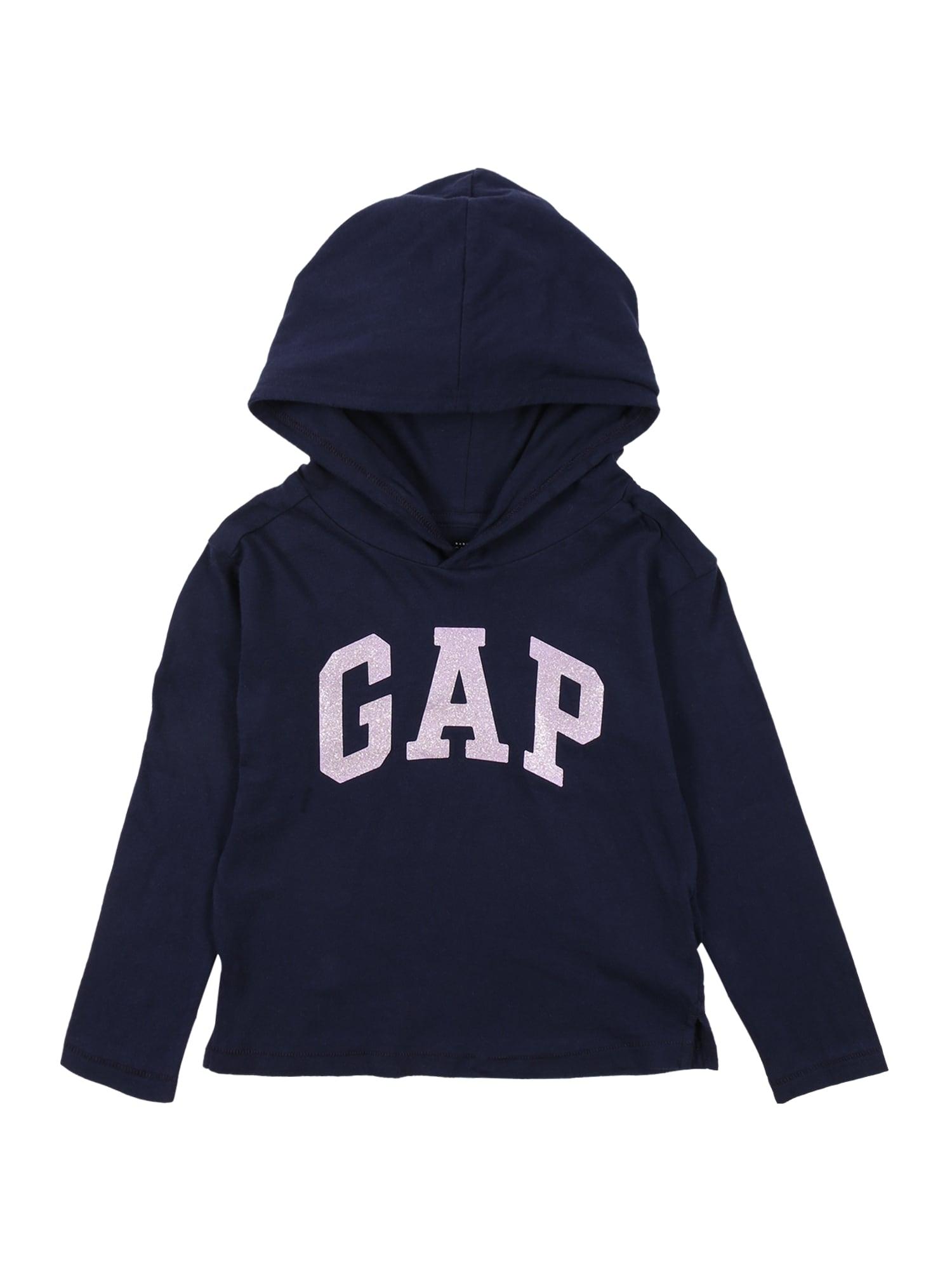 GAP Megztinis be užsegimo tamsiai mėlyna / pastelinė rožinė
