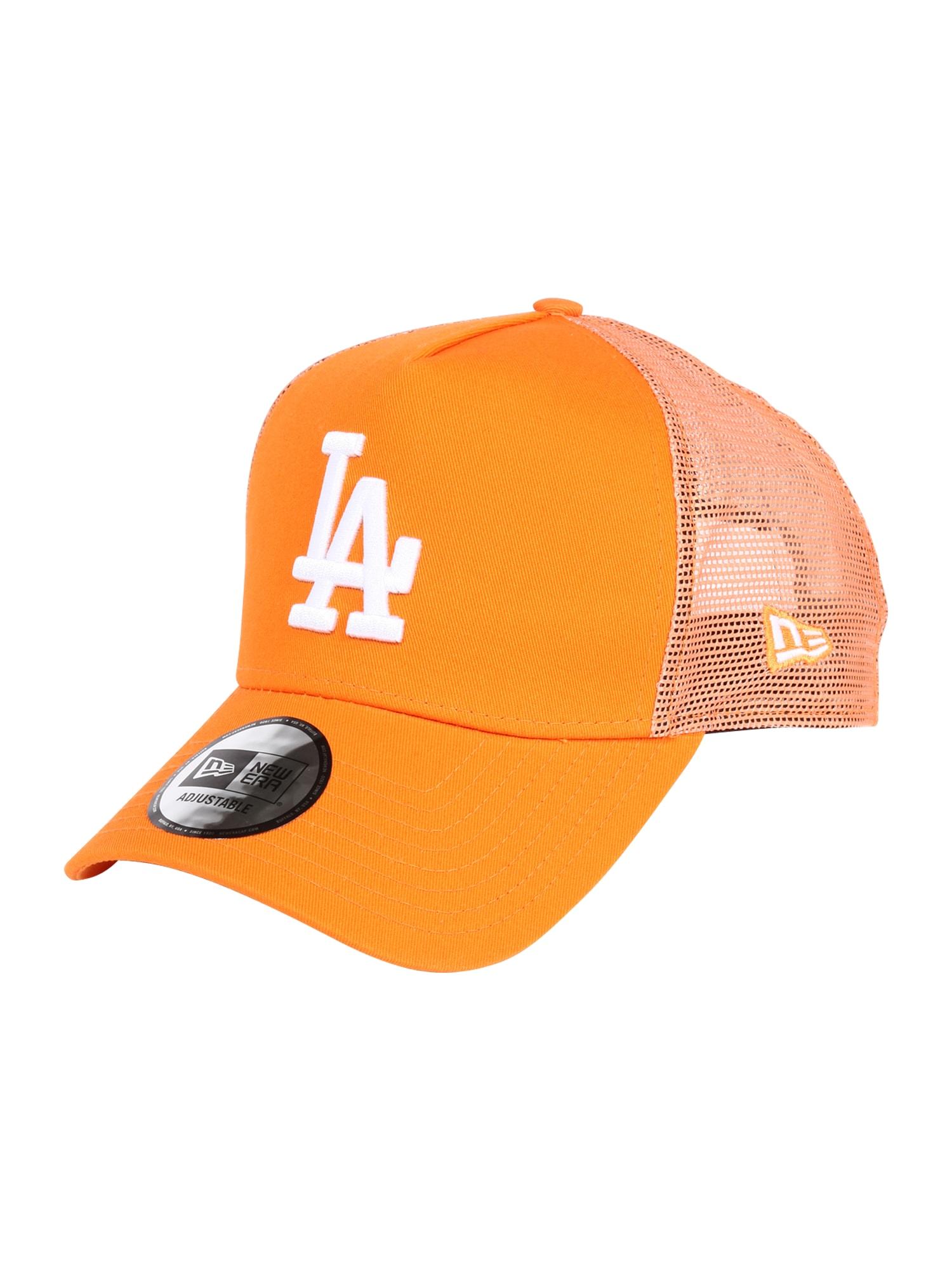 NEW ERA Kepurė oranžinė / balta