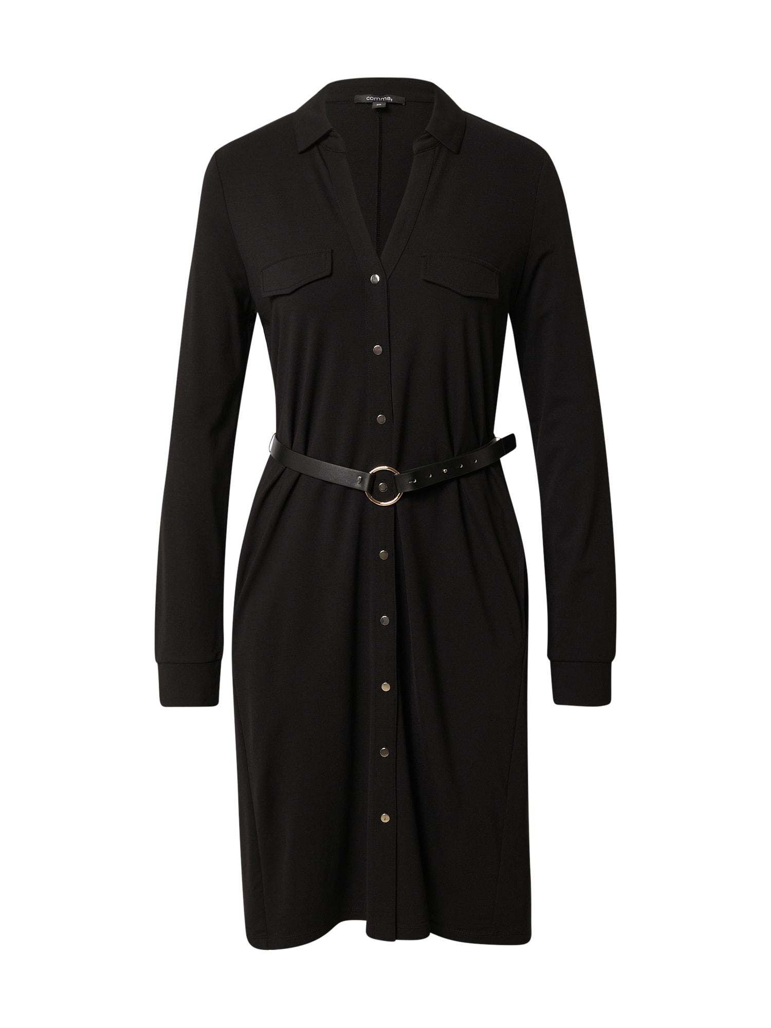 COMMA Palaidinės tipo suknelė juoda