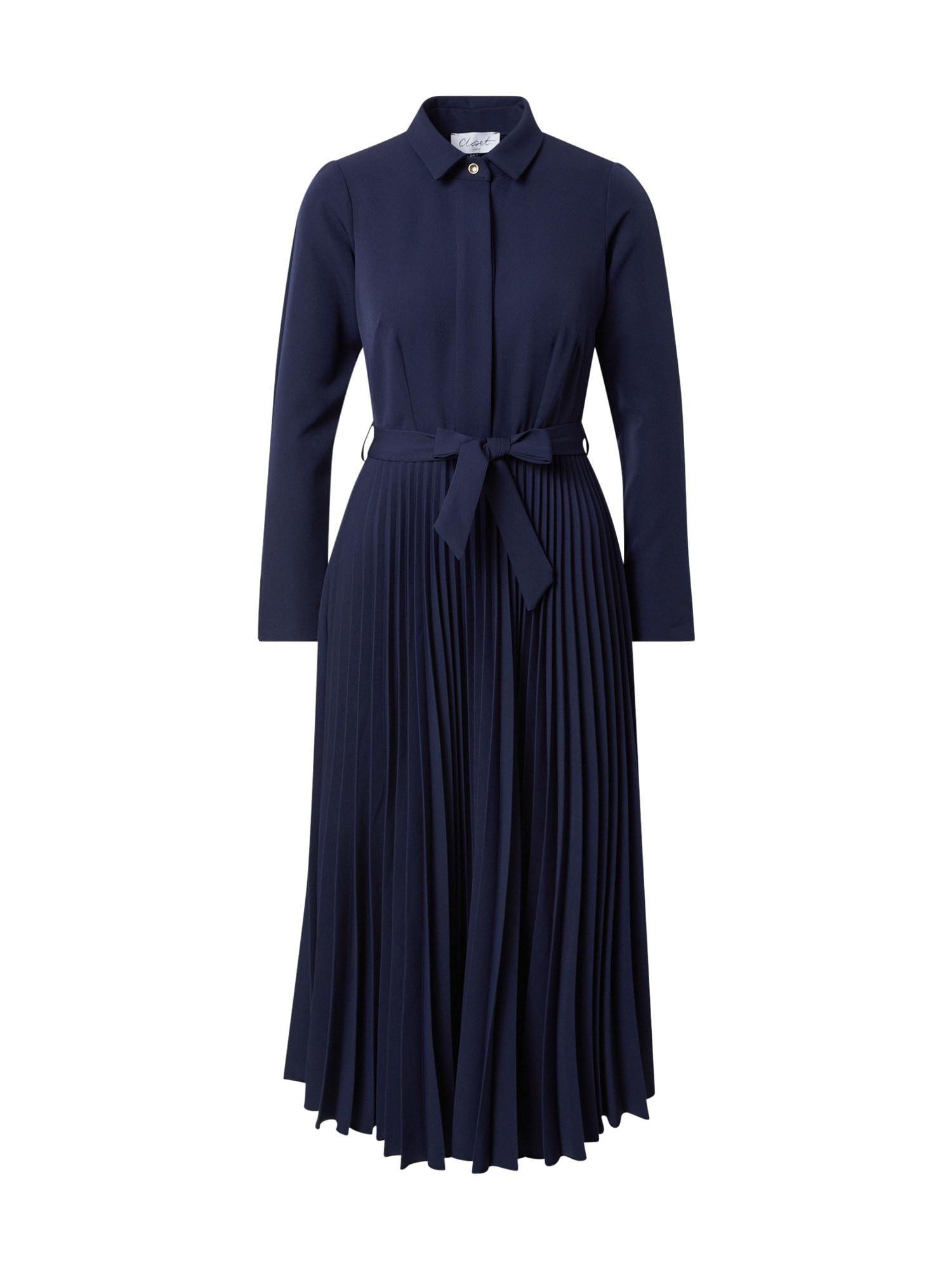 Closet London Palaidinės tipo suknelė tamsiai mėlyna