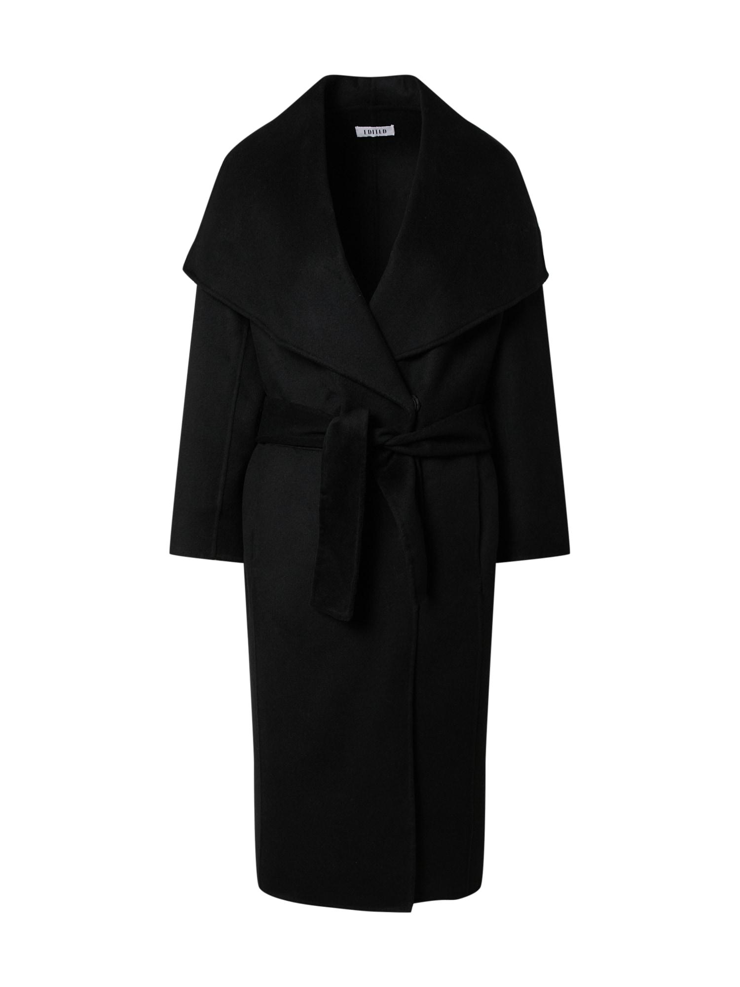 EDITED Demisezoninis paltas 'Rosalie' juoda