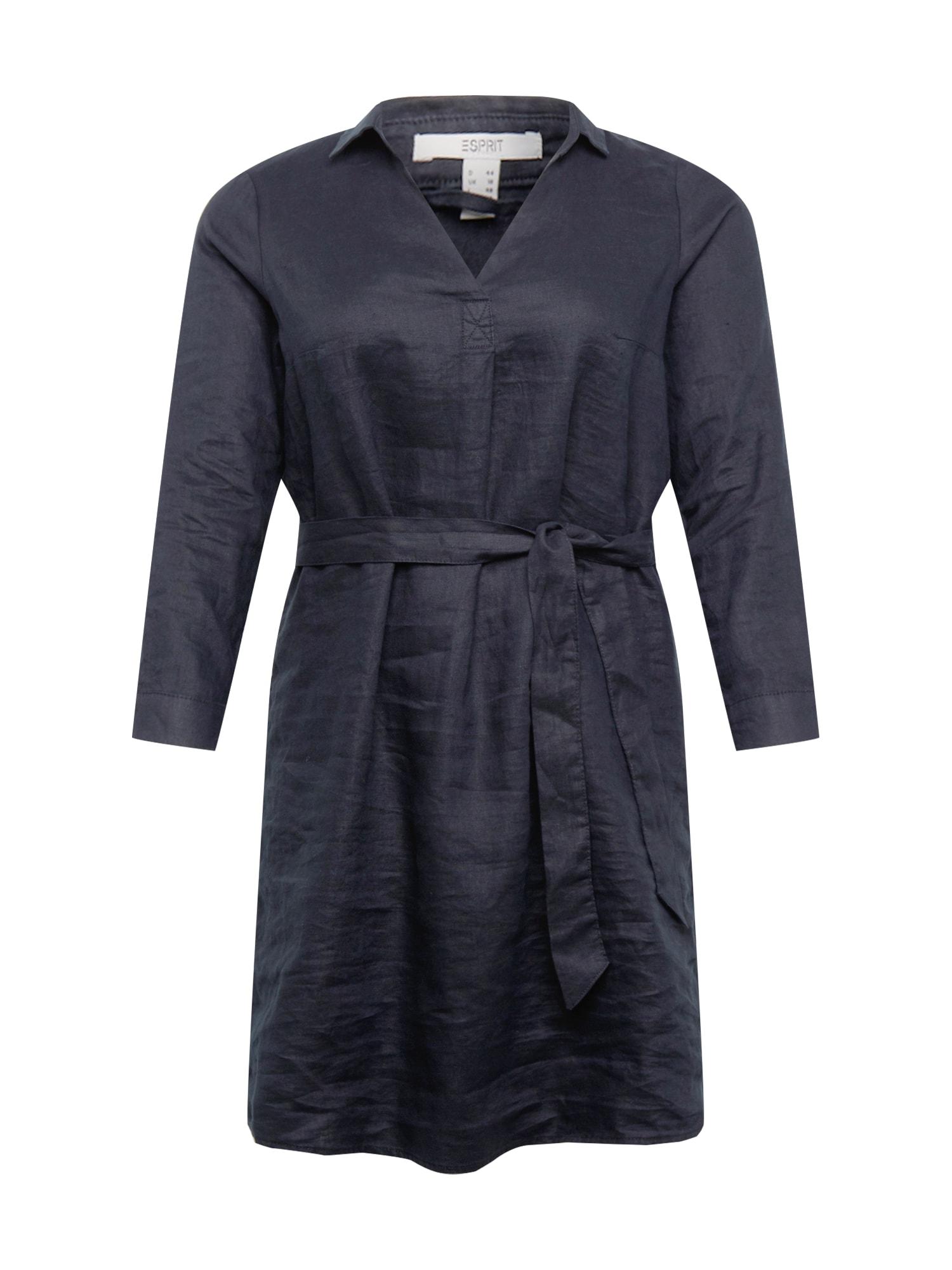 Esprit Curves Palaidinės tipo suknelė juoda