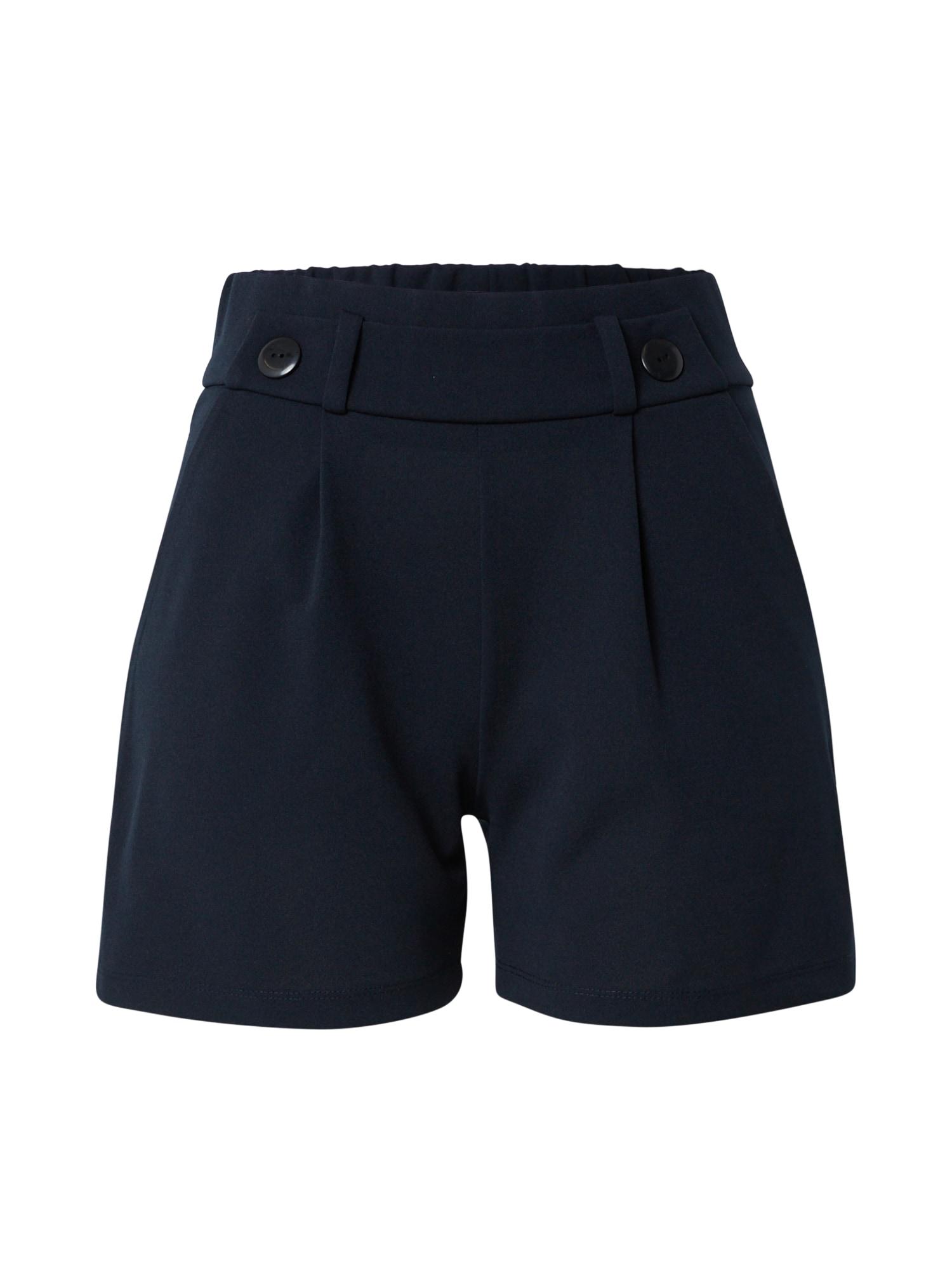 JACQUELINE de YONG Klostuotos kelnės 'GEGGO' tamsiai mėlyna
