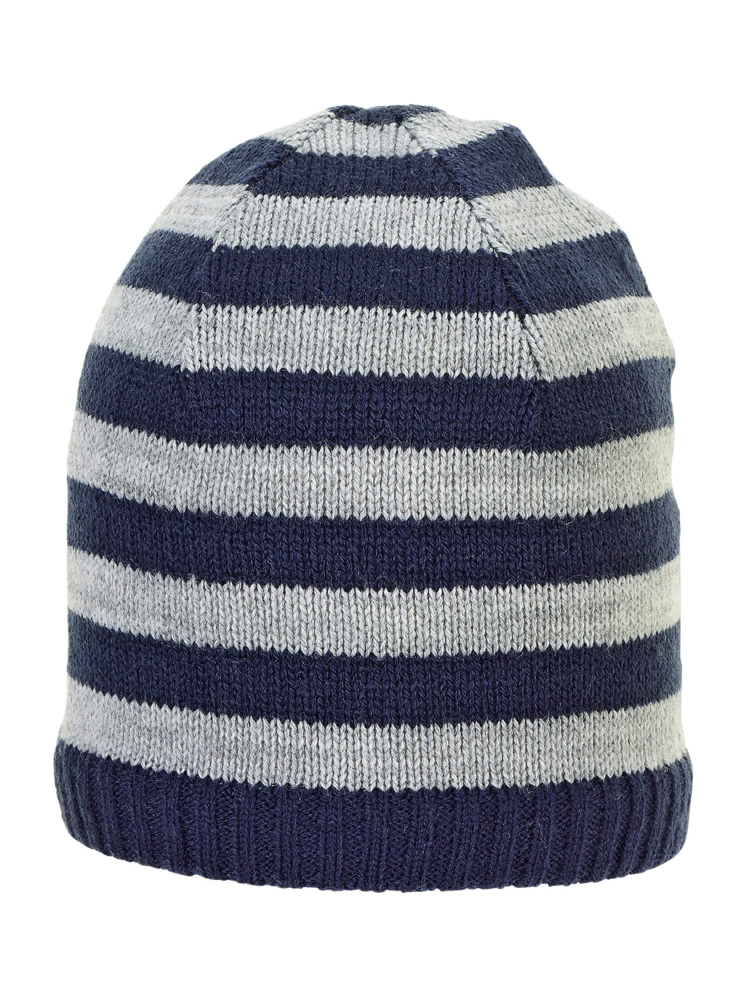 STERNTALER Megzta kepurė tamsiai mėlyna jūros spalva / pilka