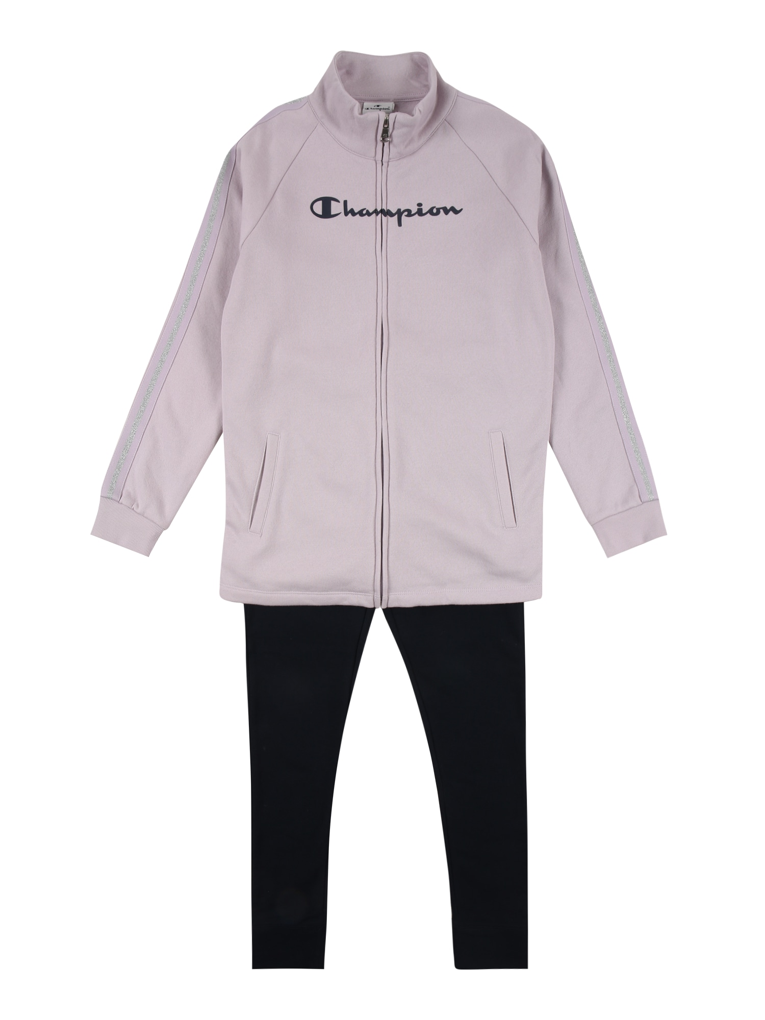 Champion Authentic Athletic Apparel Rinkinys juoda / purpurinė