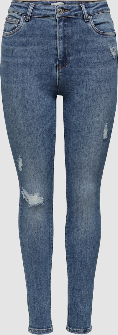 Only Mila Life High Waist Gerippte Skinny Jeans
