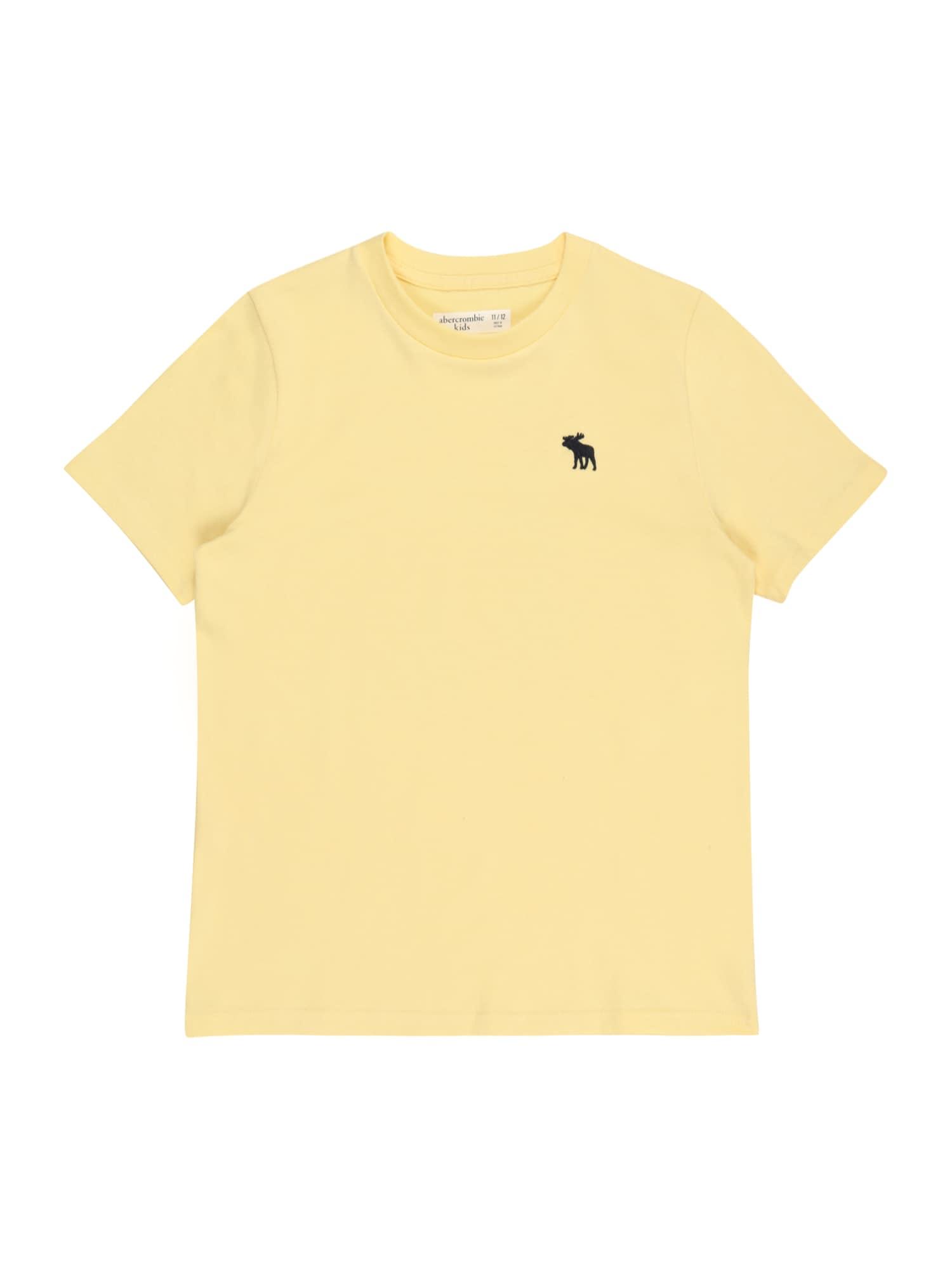 Abercrombie & Fitch Marškinėliai šviesiai geltona