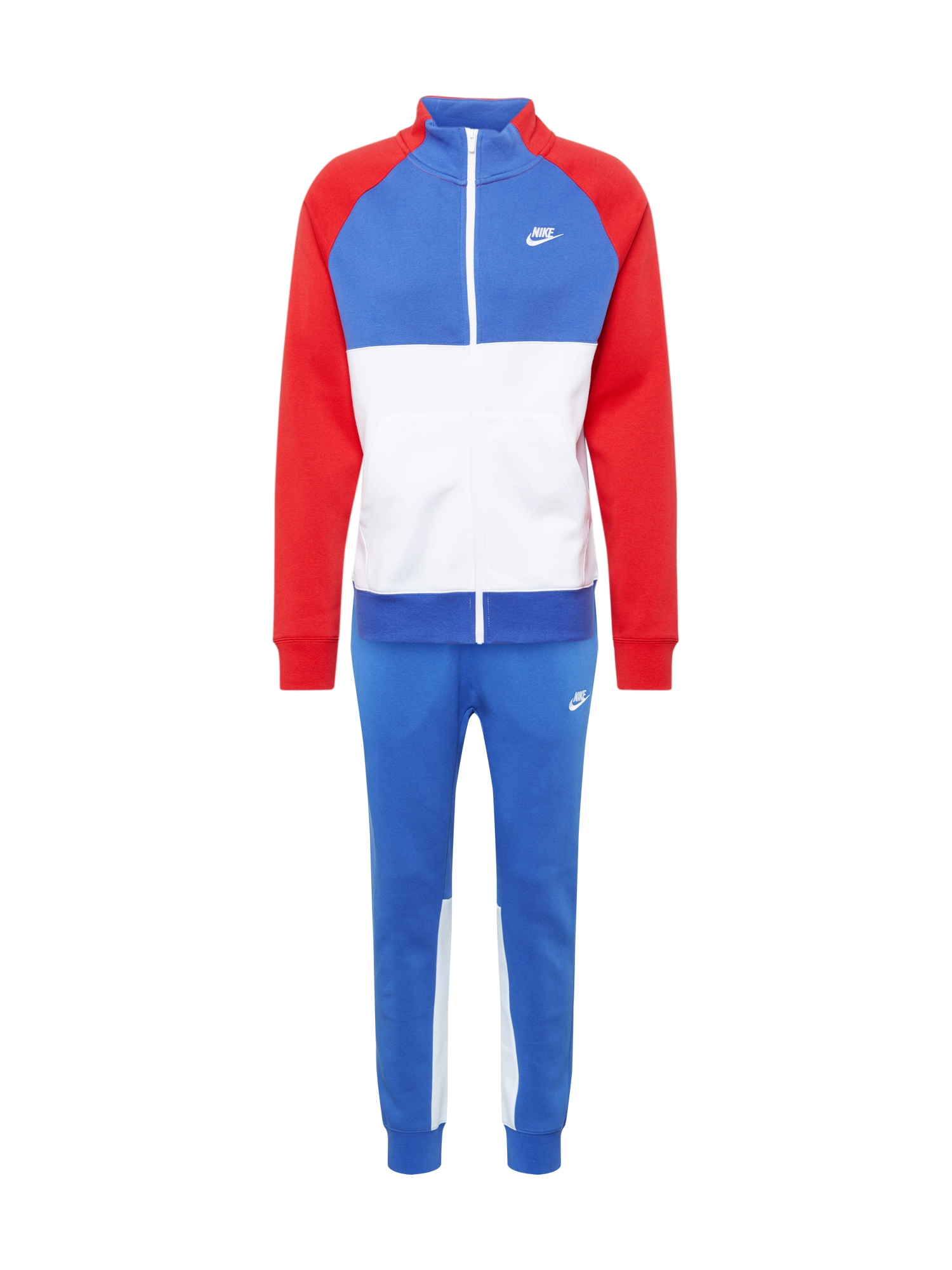Nike Sportswear Joggingová souprava  modrá / červená / bílá
