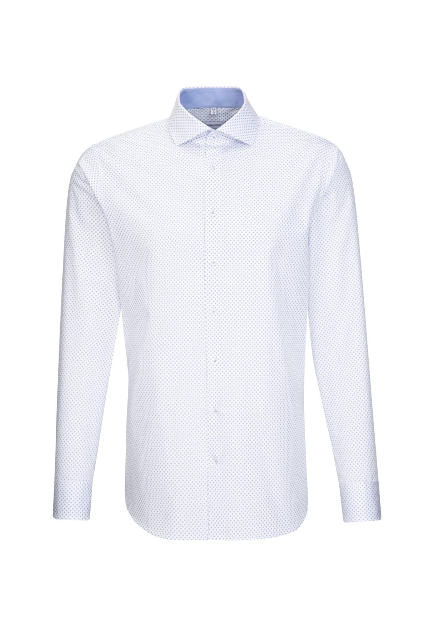 SEIDENSTICKER Marškiniai balta / pilka