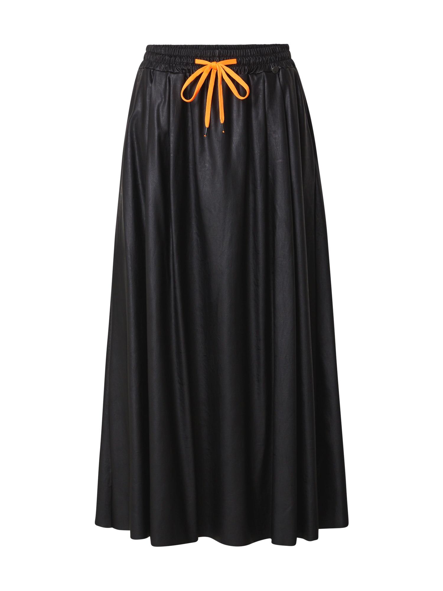 Liebesglück Sijonas juoda / oranžinė
