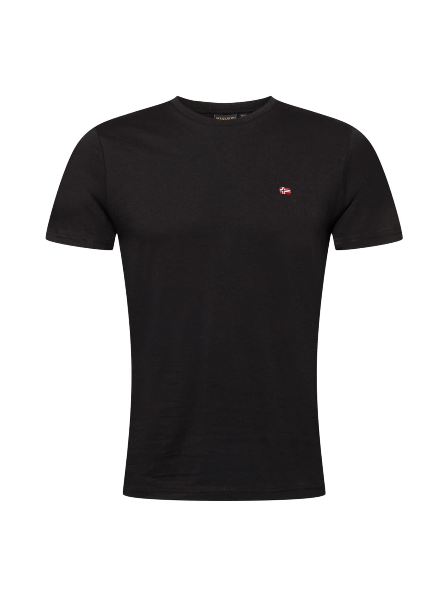 NAPAPIJRI Tričko 'SALIS'  černá