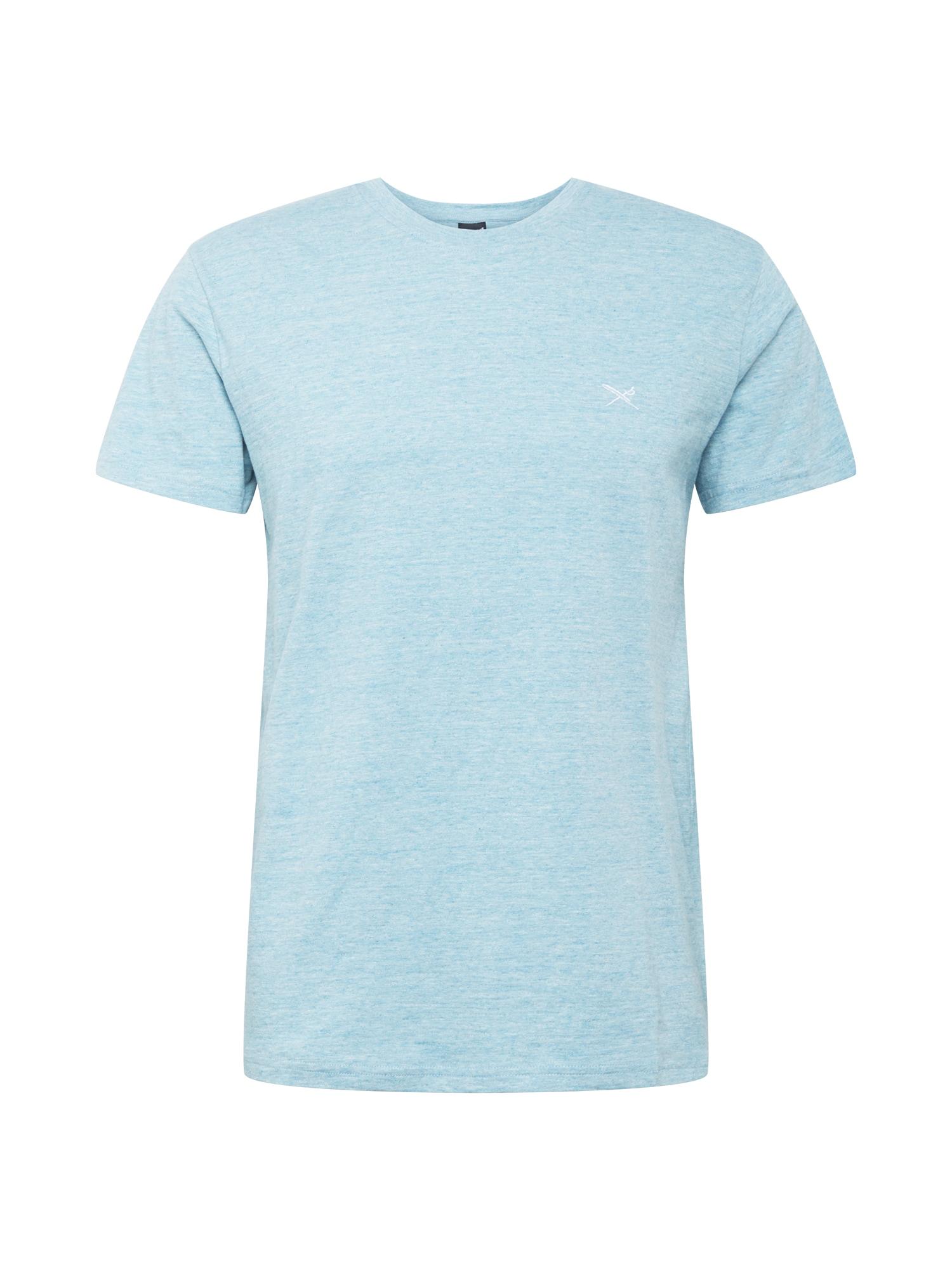 Iriedaily Marškinėliai 'Chamisso' margai mėlyna