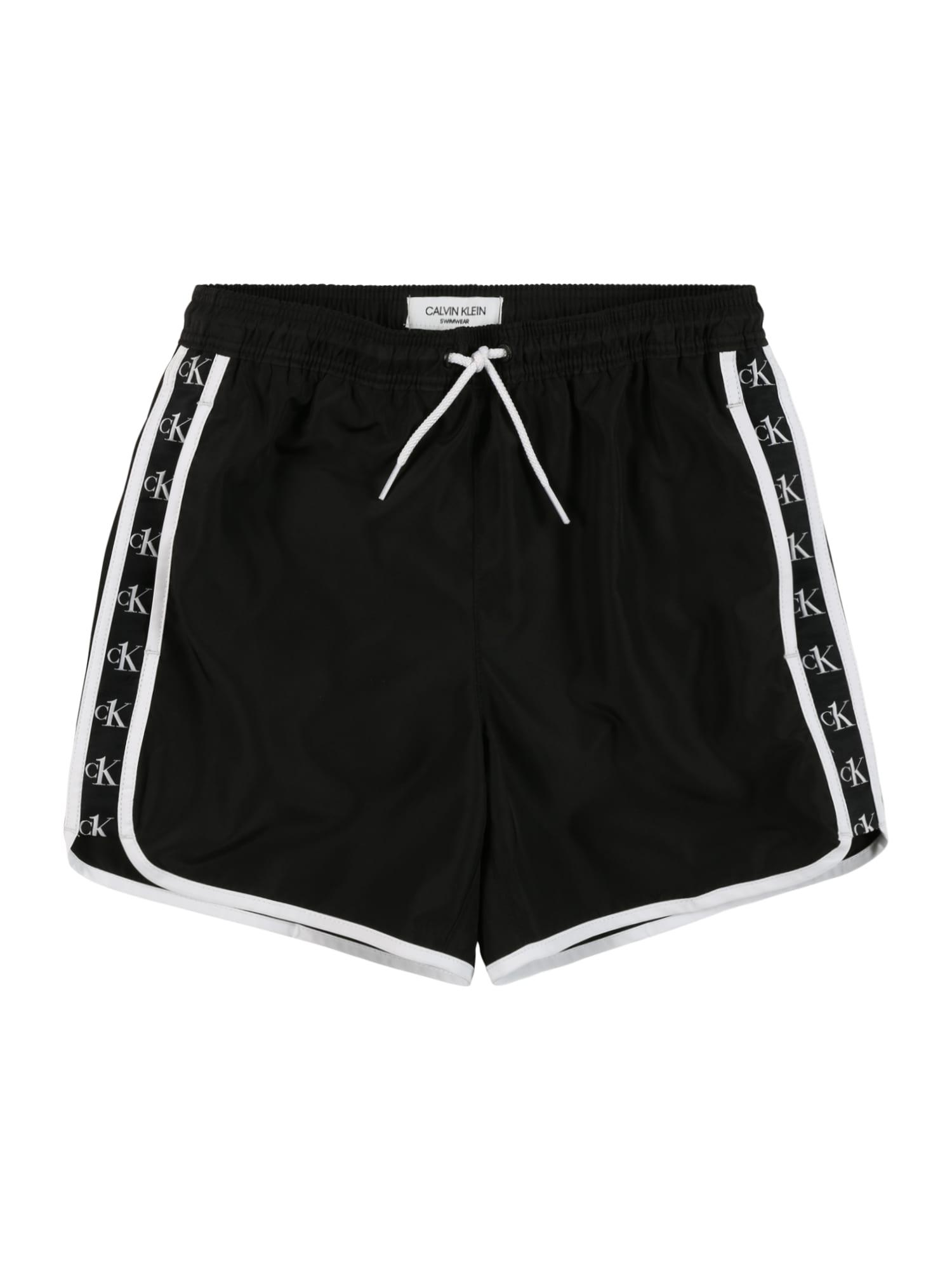 Calvin Klein Swimwear Maudymosi trumpikės juoda