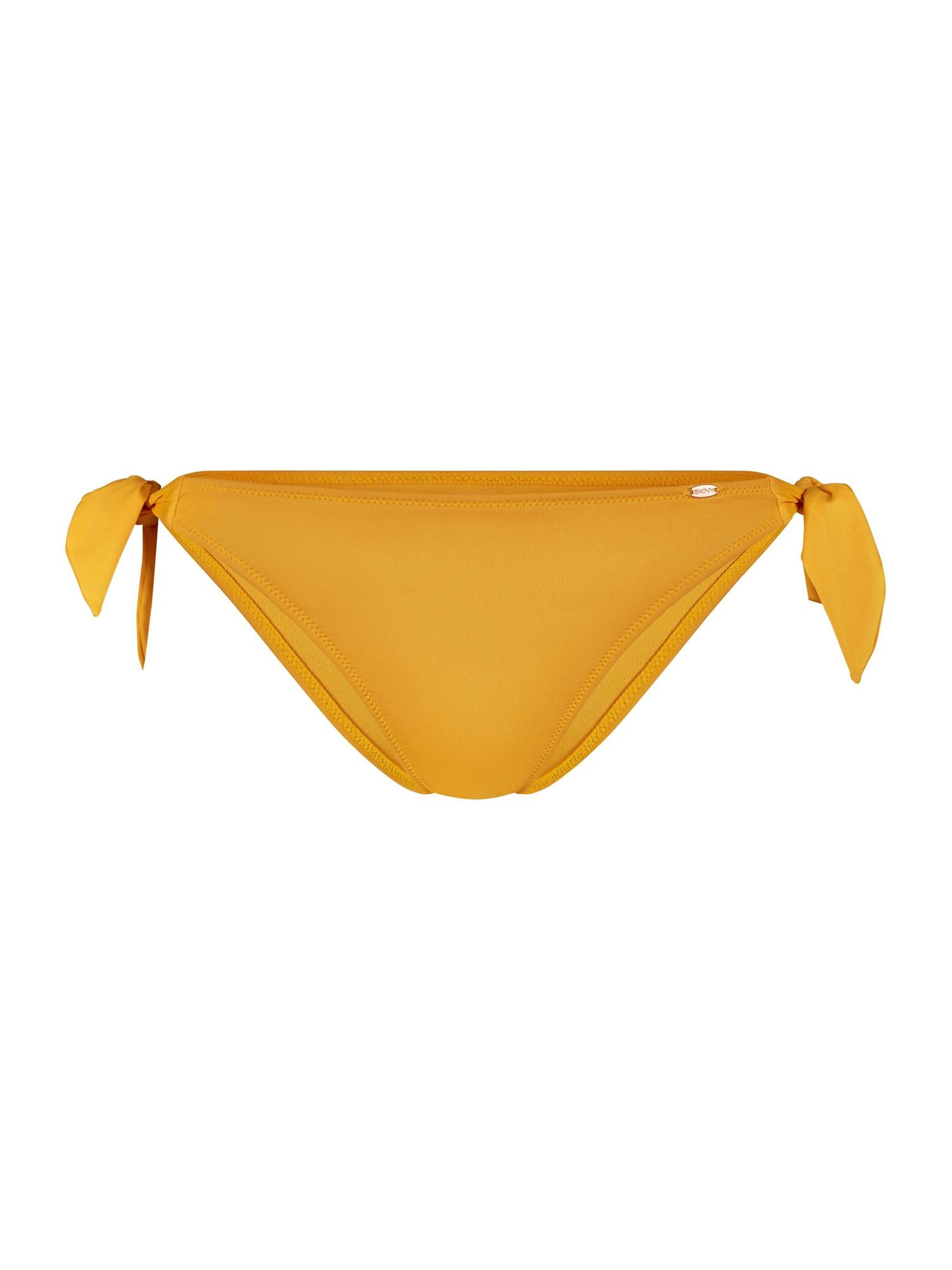 Skiny Bikinio kelnaitės aukso geltonumo spalva