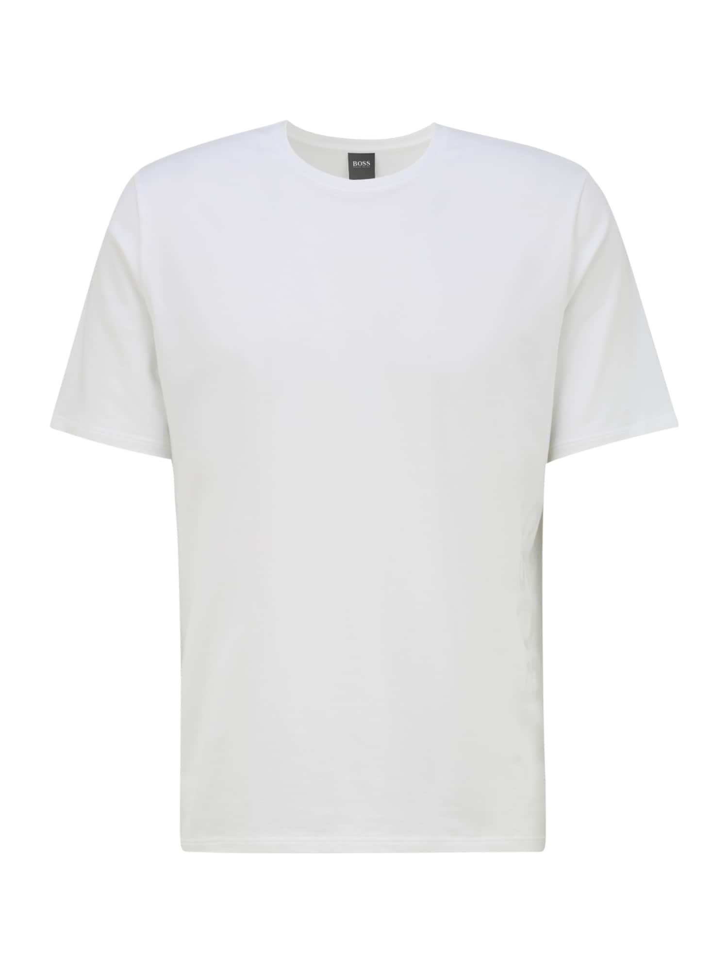 BOSS Casual Apatiniai marškinėliai balkšva