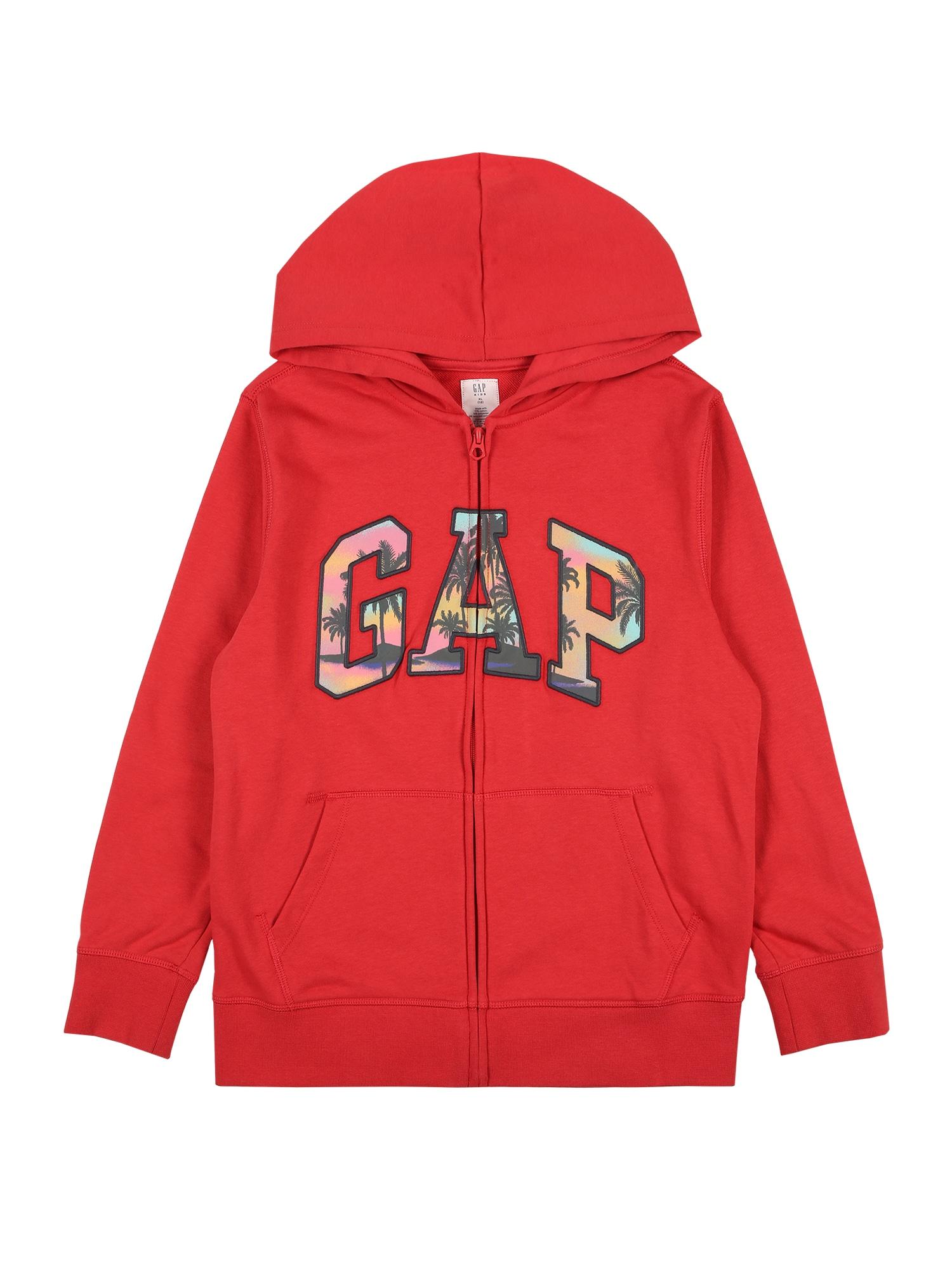 GAP Džemperis raudona / rožių spalva / turkio spalva / tamsiai mėlyna jūros spalva