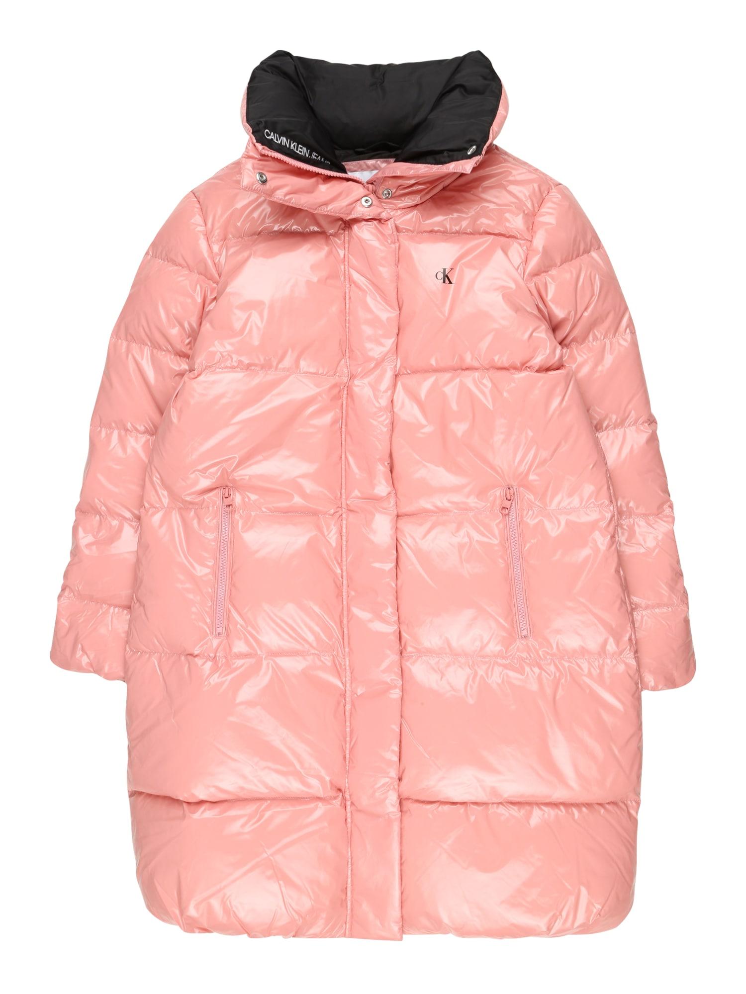 Calvin Klein Jeans Zimní bunda  růžová