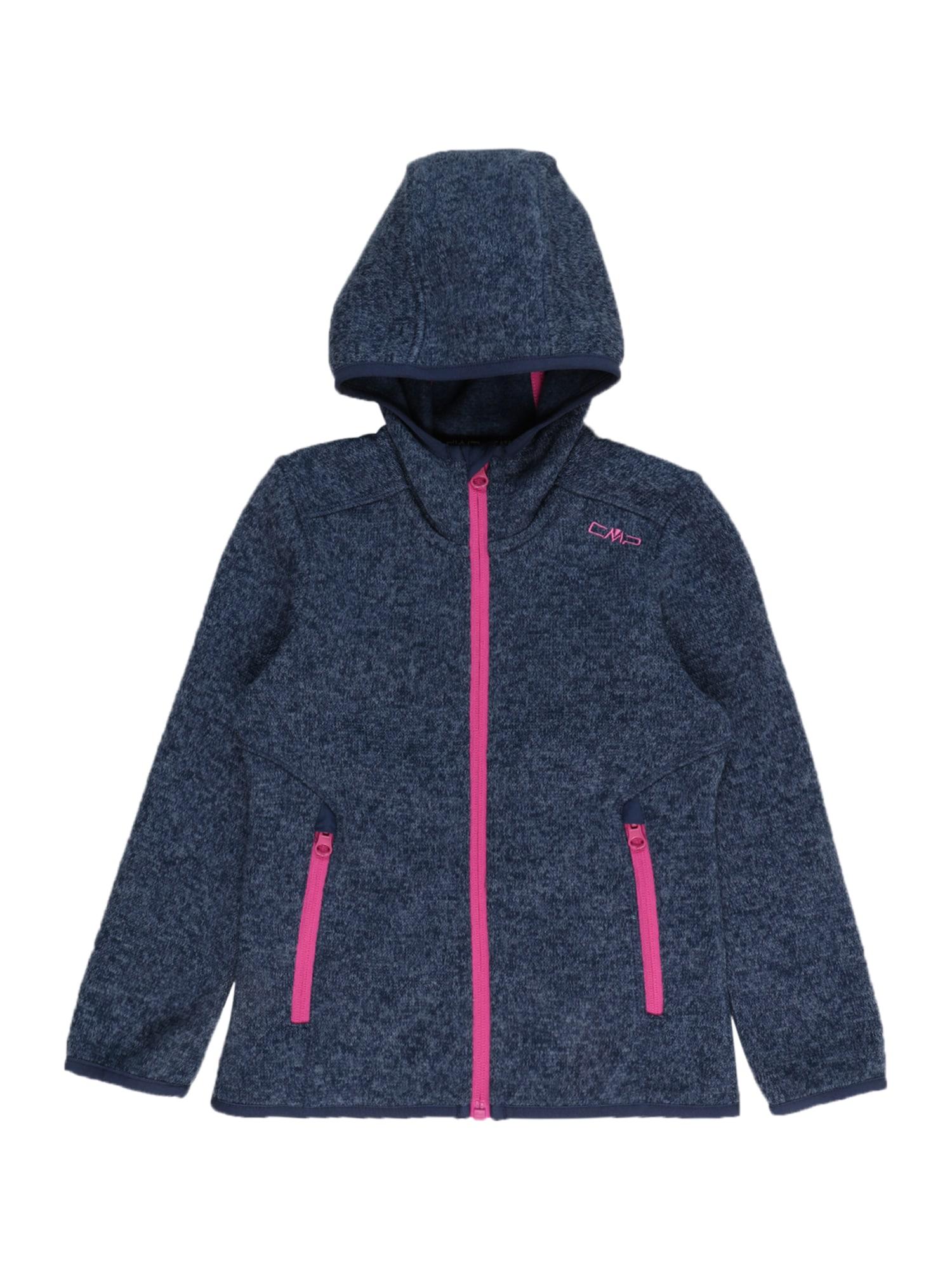 CMP Flisinis džemperis tamsiai mėlyna / rožinė