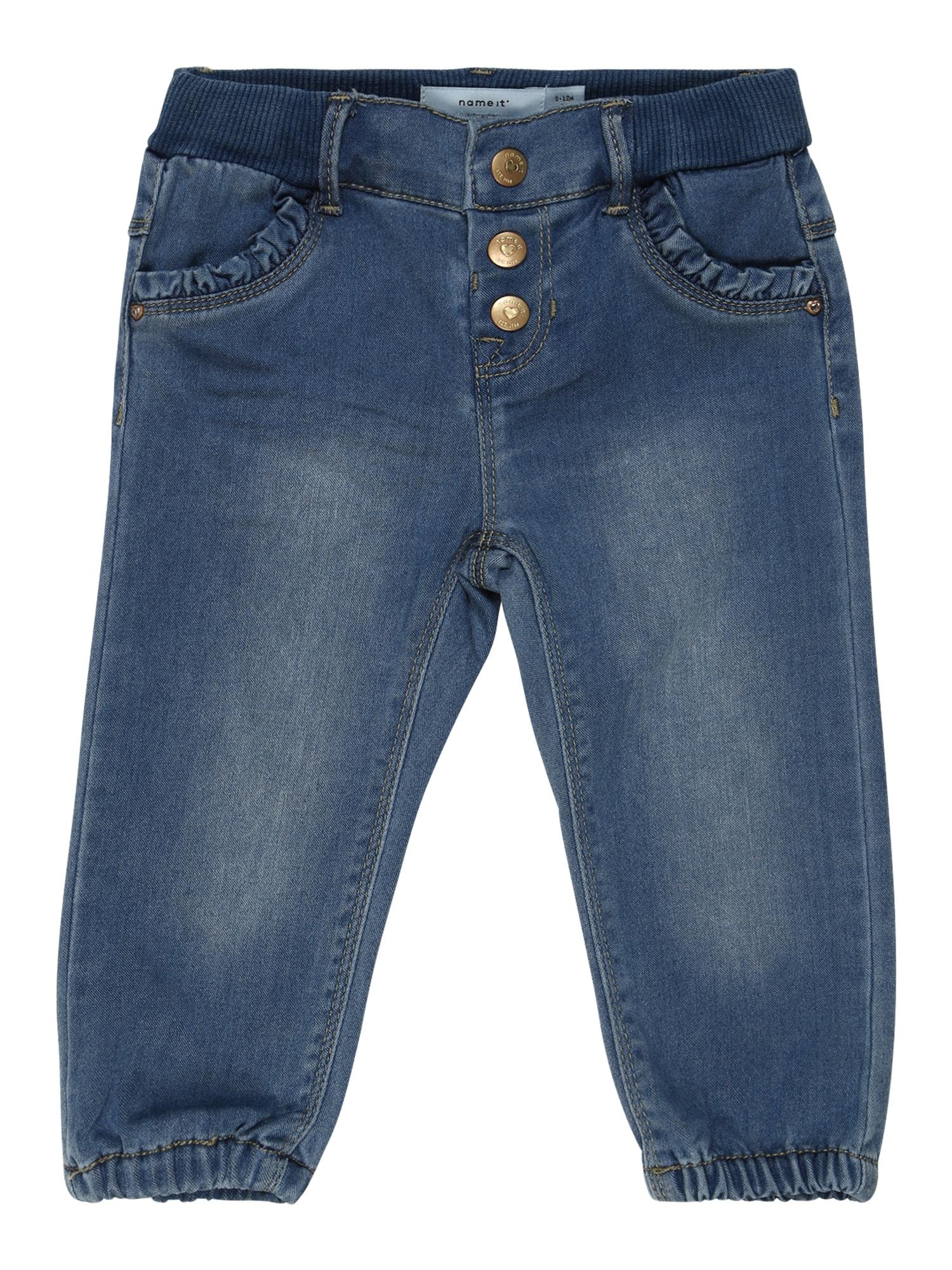 NAME IT Džíny 'Frie Tora'  modrá džínovina