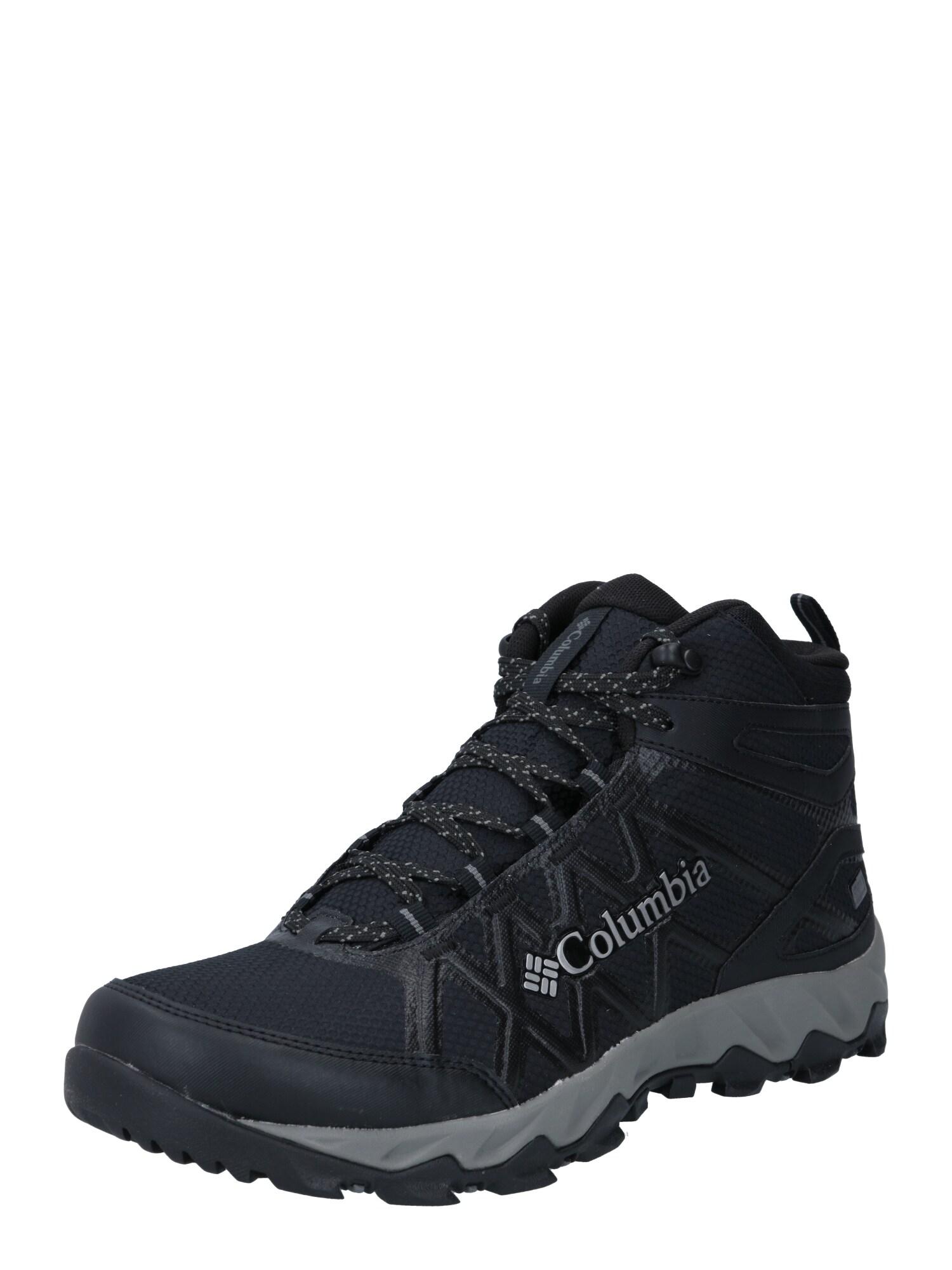 COLUMBIA Auliniai batai su raišteliais juoda