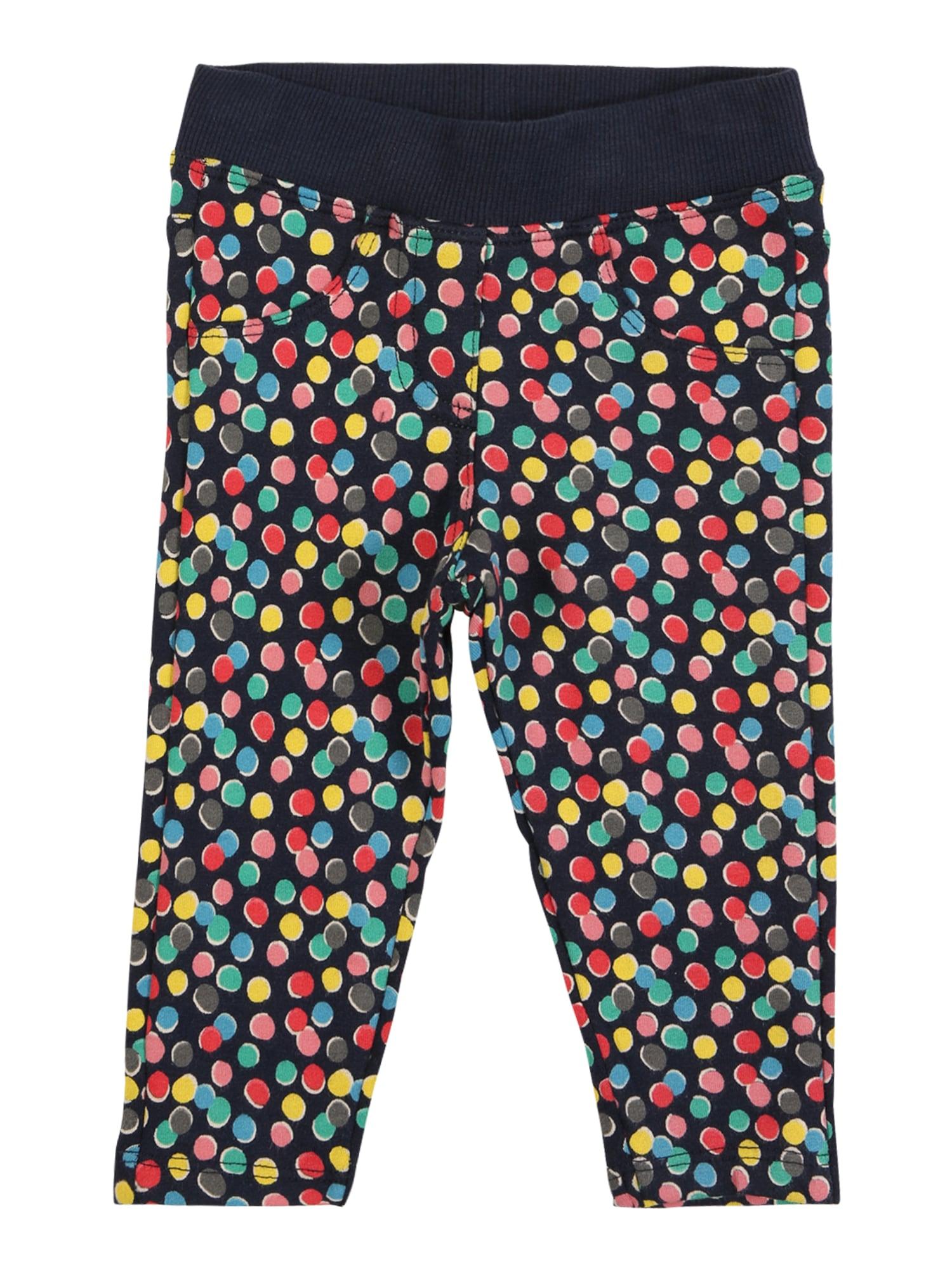 Boboli Kalhoty  kobaltová modř / mátová / červená / žlutá / modrá