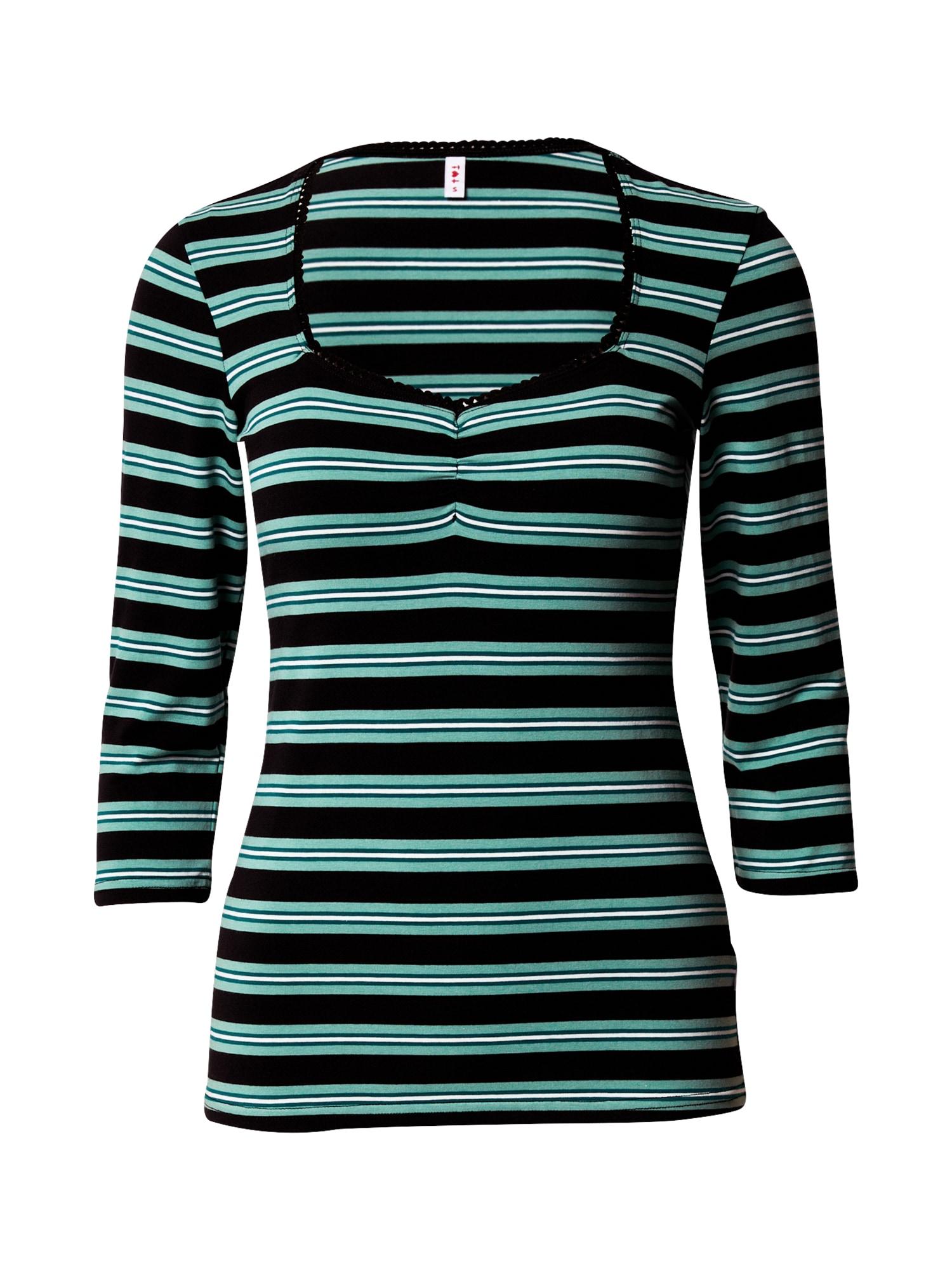 Blutsgeschwister Marškinėliai žalia / juoda