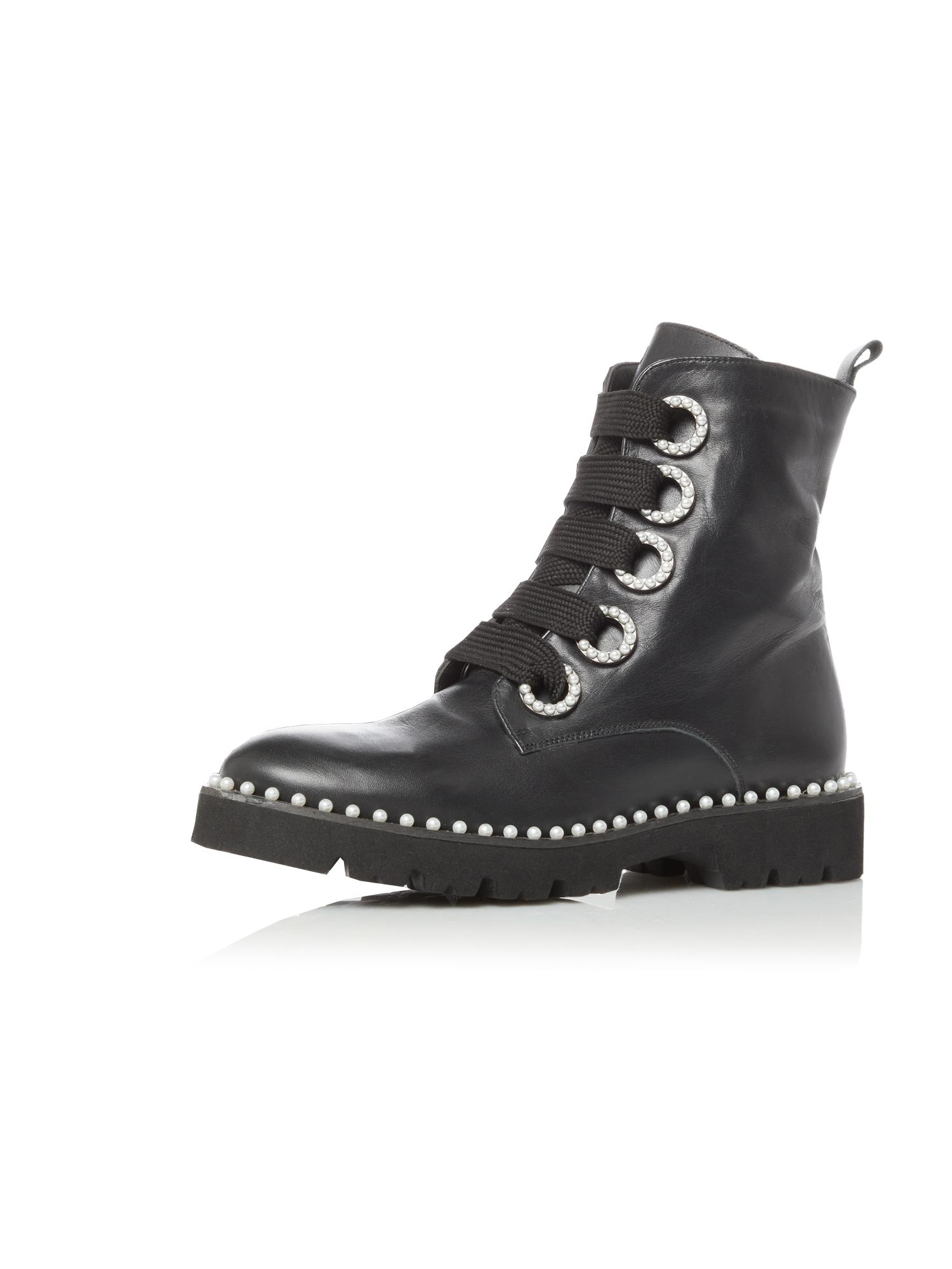 Dune LONDON Šněrovací boty 'PURLA'  černá