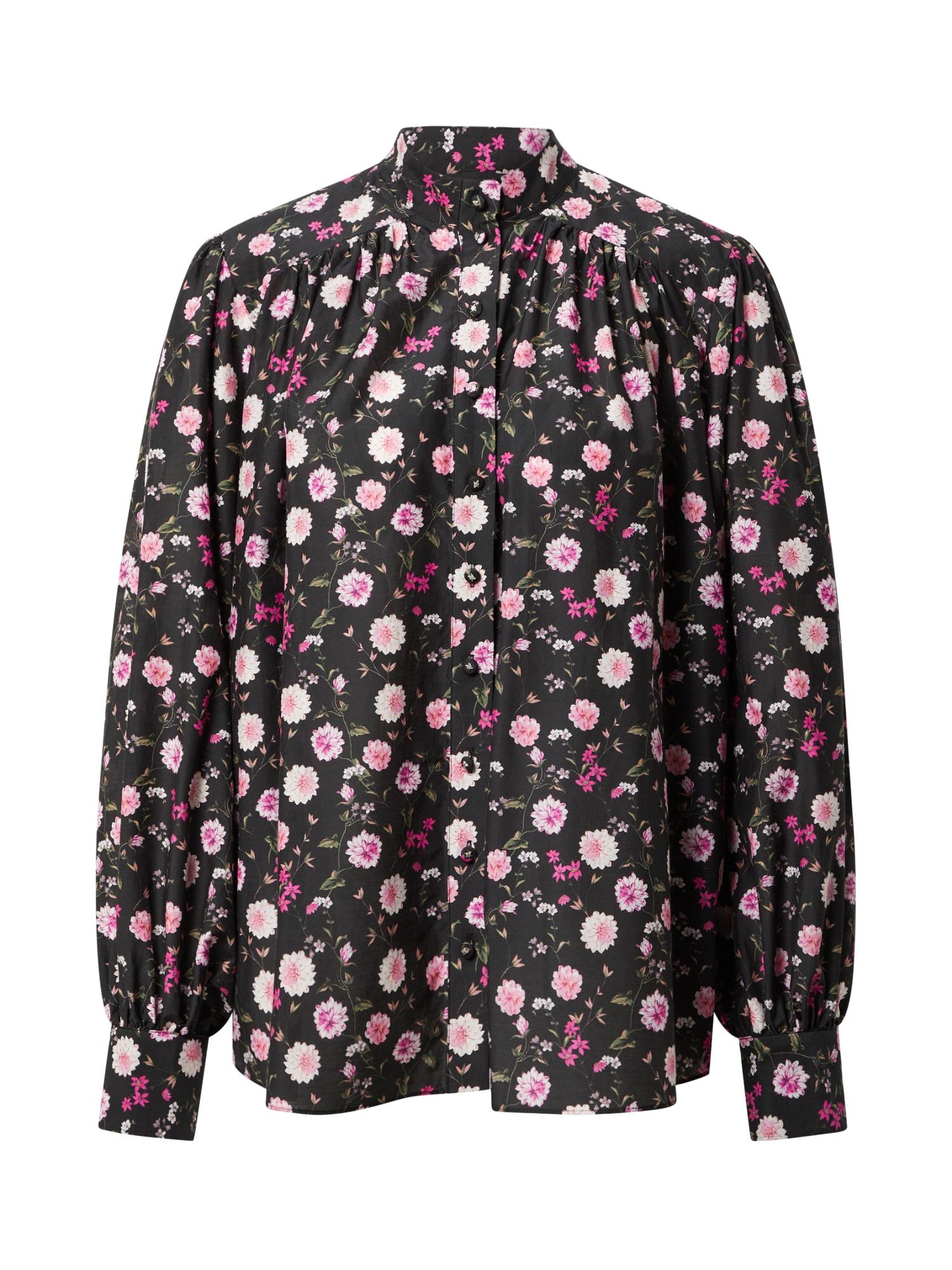 The Kooples Palaidinė juoda / rožių spalva / ryškiai rožinė spalva / rožinė / alyvuogių spalva